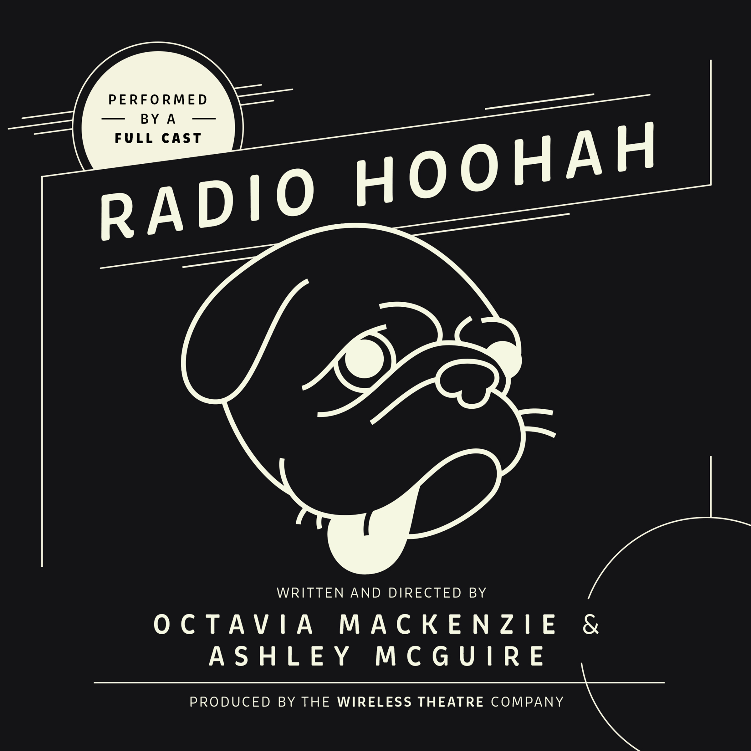 Printable Radio Hoohah Audiobook Cover Art
