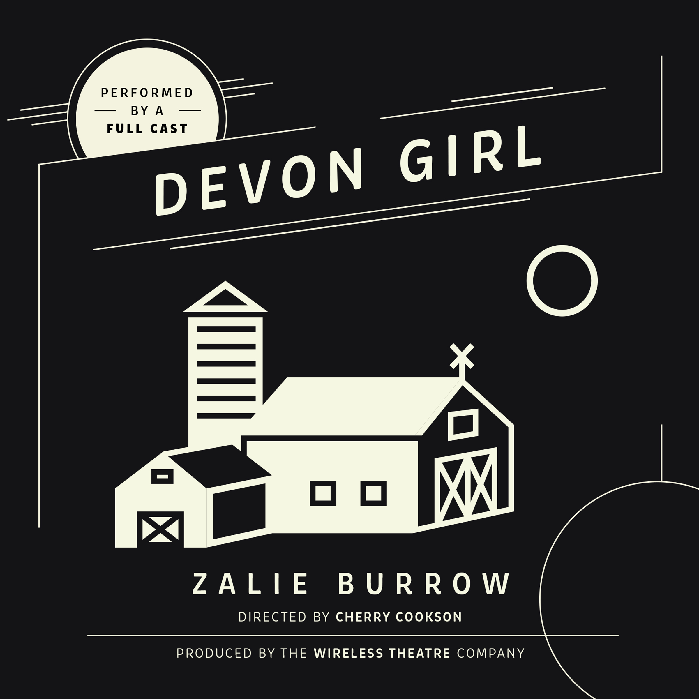 Printable Devon Girl Audiobook Cover Art