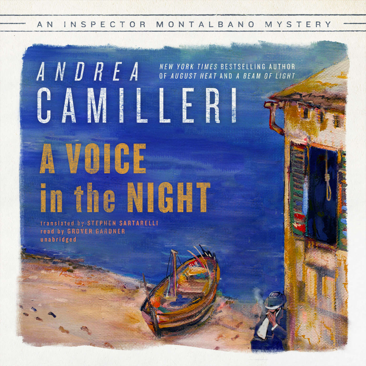 Printable A Voice in the Night Audiobook Cover Art