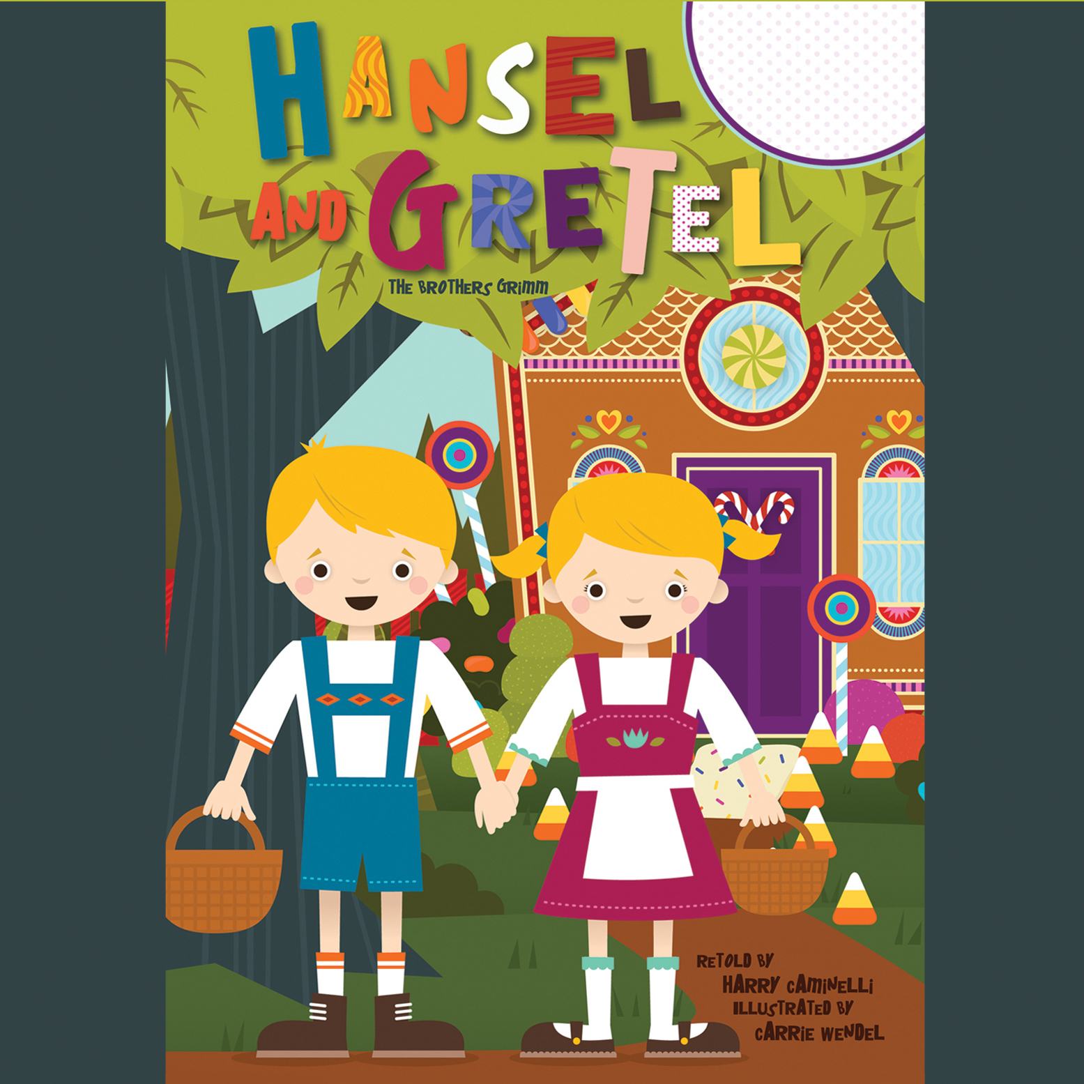 Printable Hansel and Gretel Audiobook Cover Art