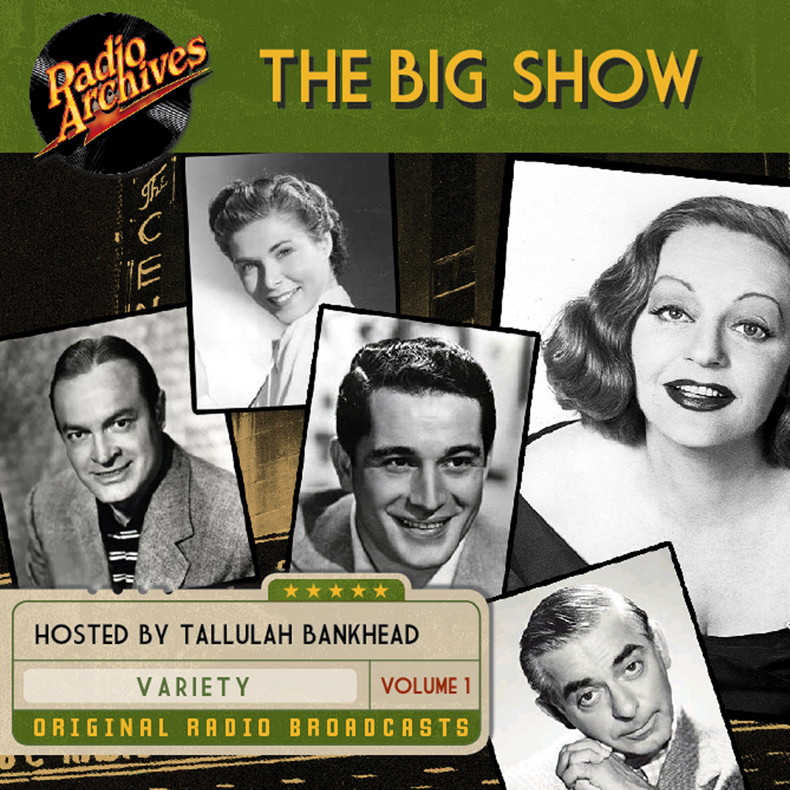 Printable Big Show, Volume 1 Audiobook Cover Art