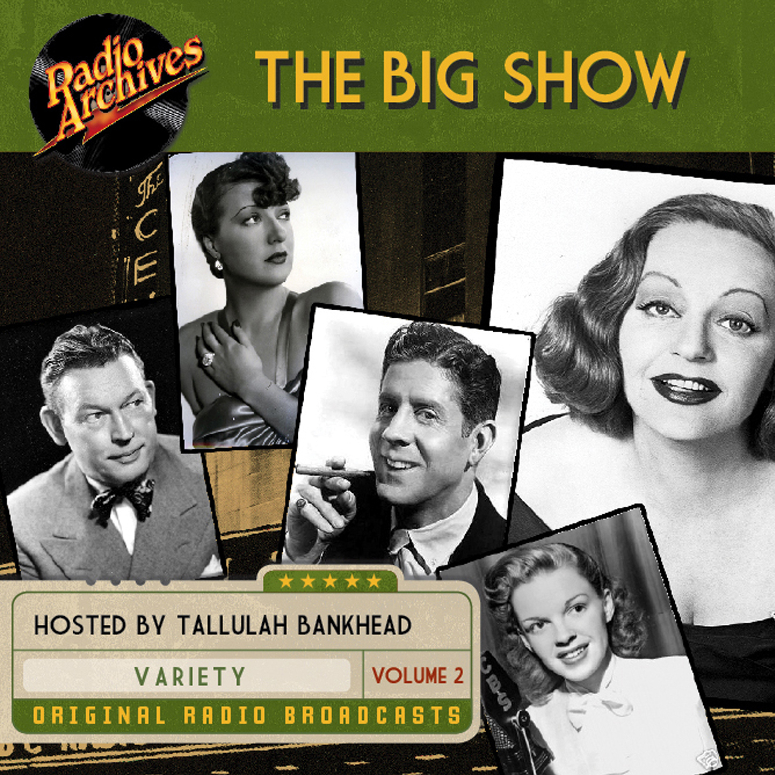 Printable Big Show, Volume 2 Audiobook Cover Art