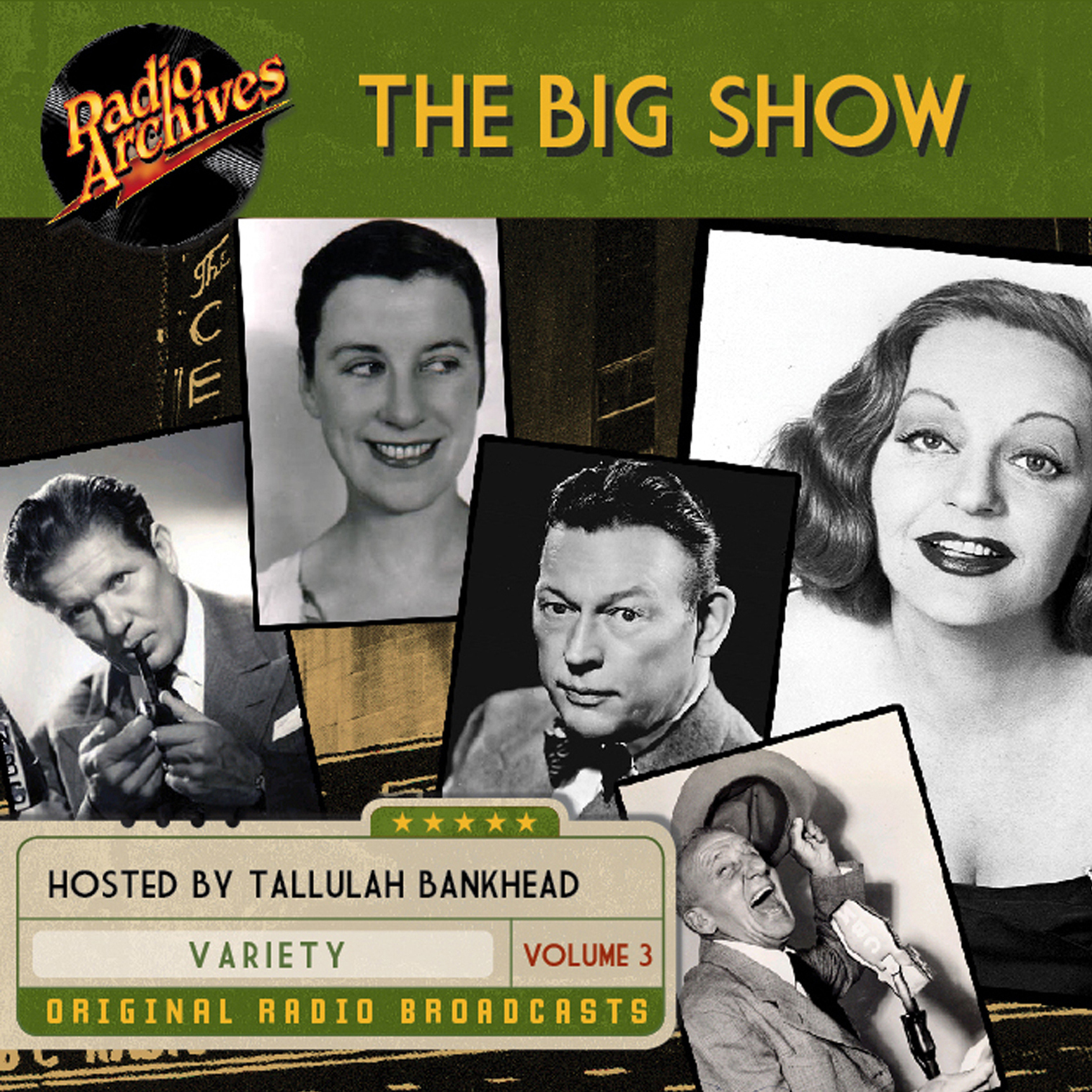 Printable Big Show, Volume 3 Audiobook Cover Art
