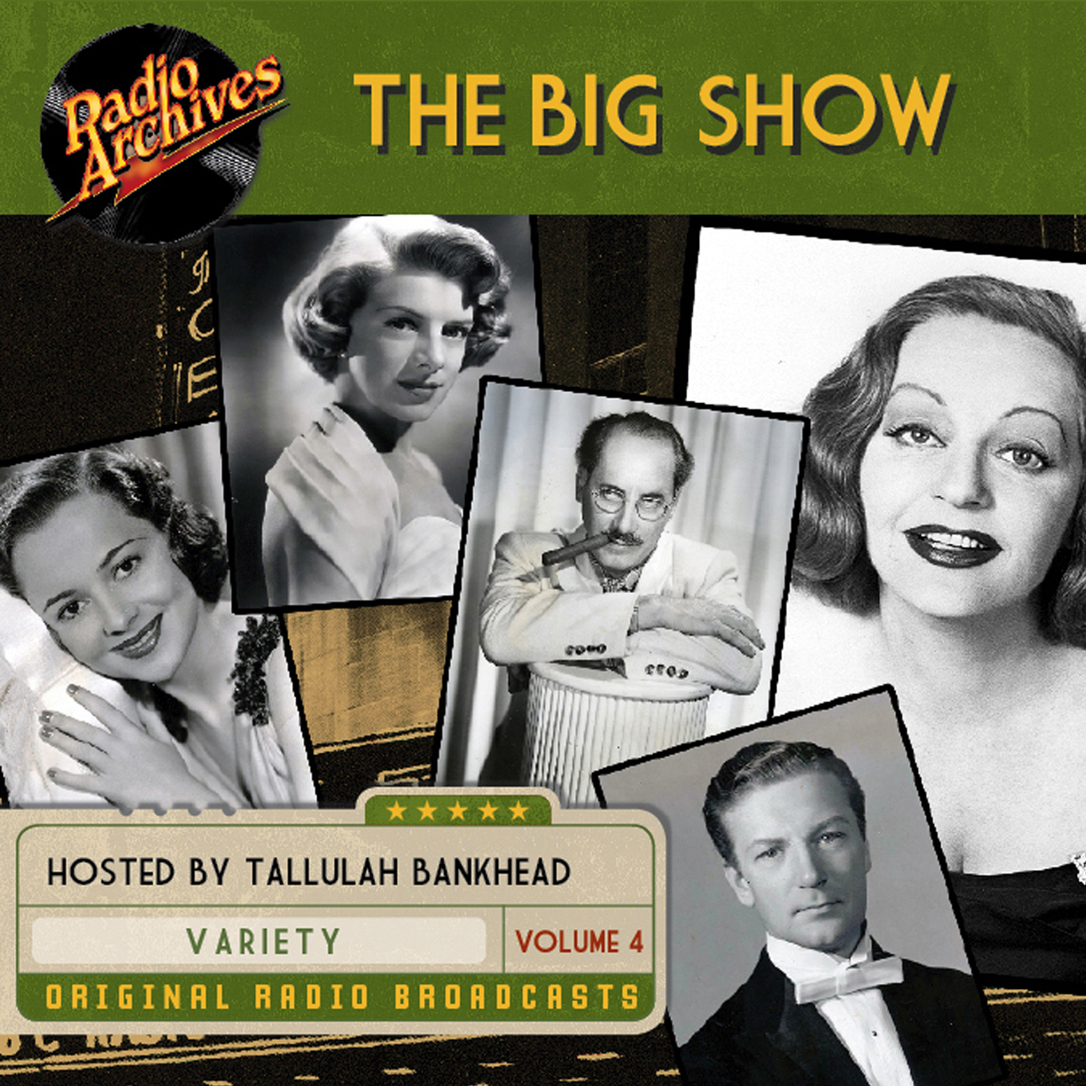 Printable Big Show, Volume 4 Audiobook Cover Art