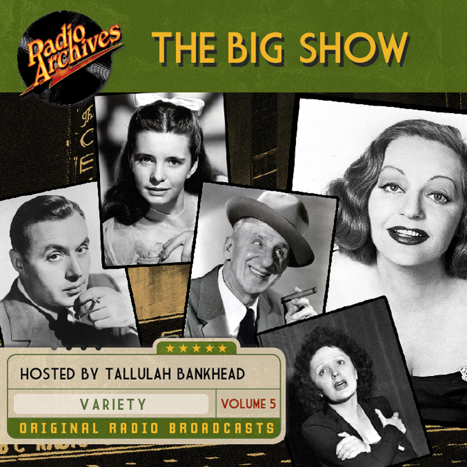 Printable Big Show, Volume 5 Audiobook Cover Art