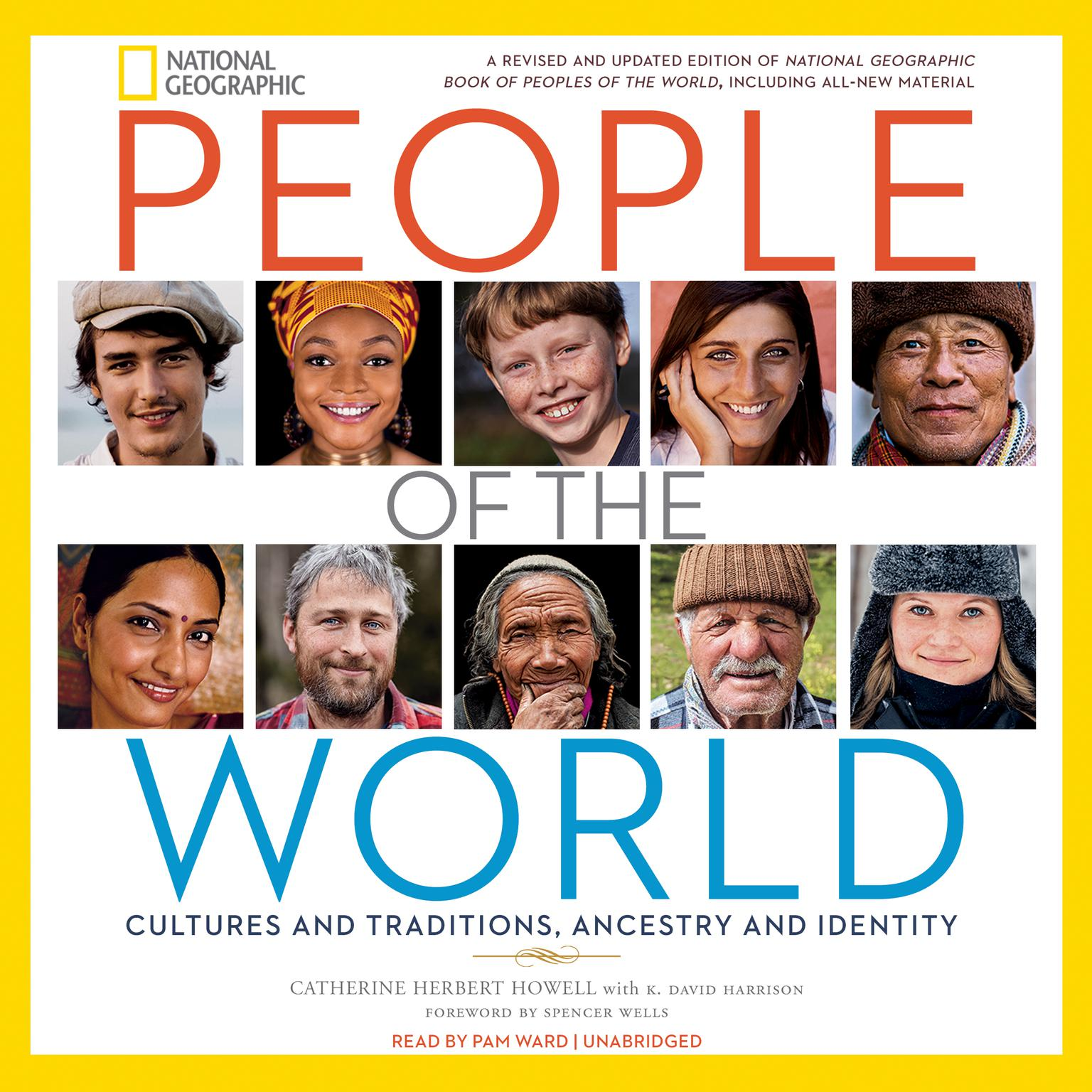 Printable People of the World: Cultures and Traditions, Ancestry and Identity Audiobook Cover Art