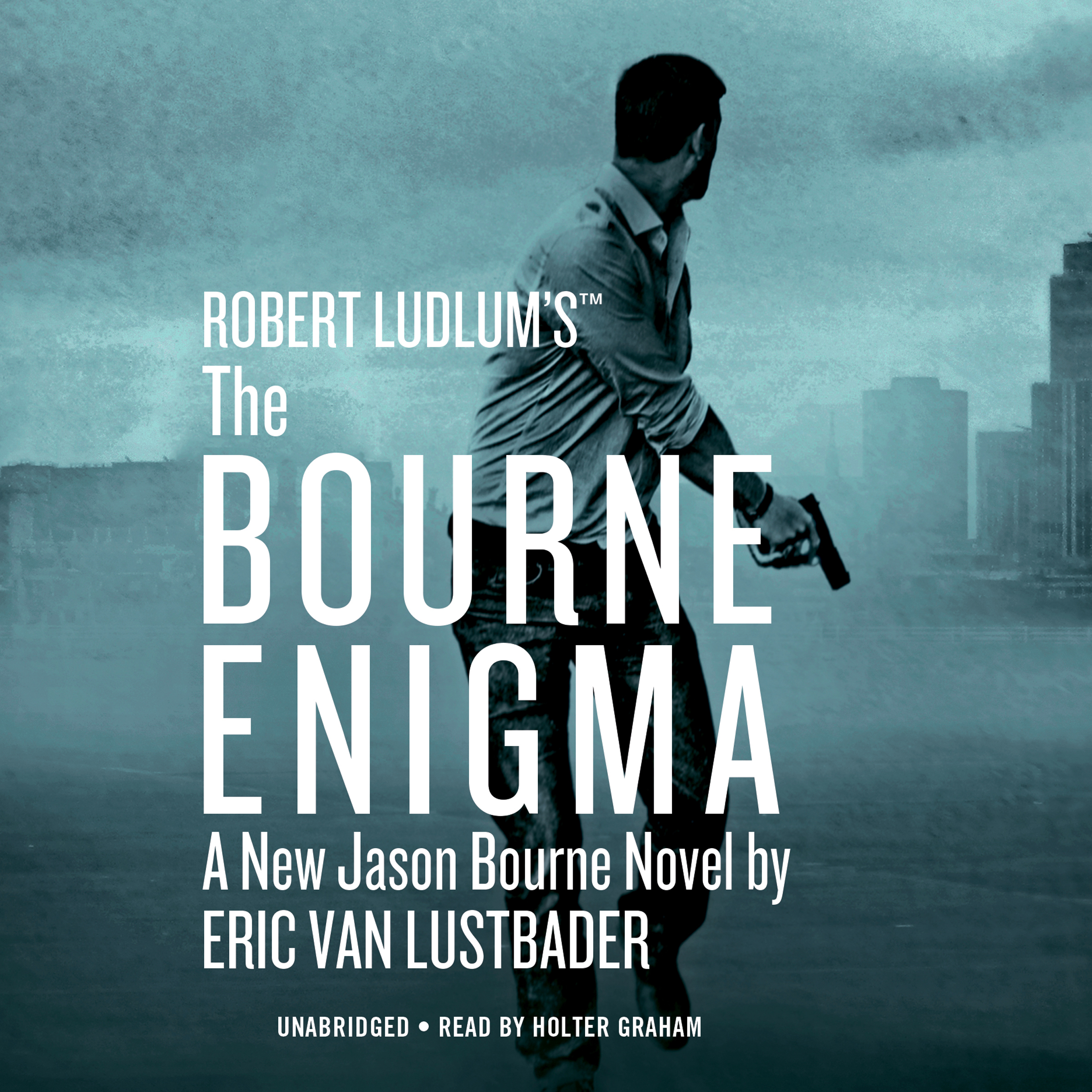Printable Robert Ludlum's ™ The Bourne Enigma Audiobook Cover Art