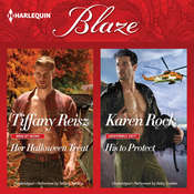 Her Halloween Treat & His to Protect, by Tiffany Reisz, Karen Rock