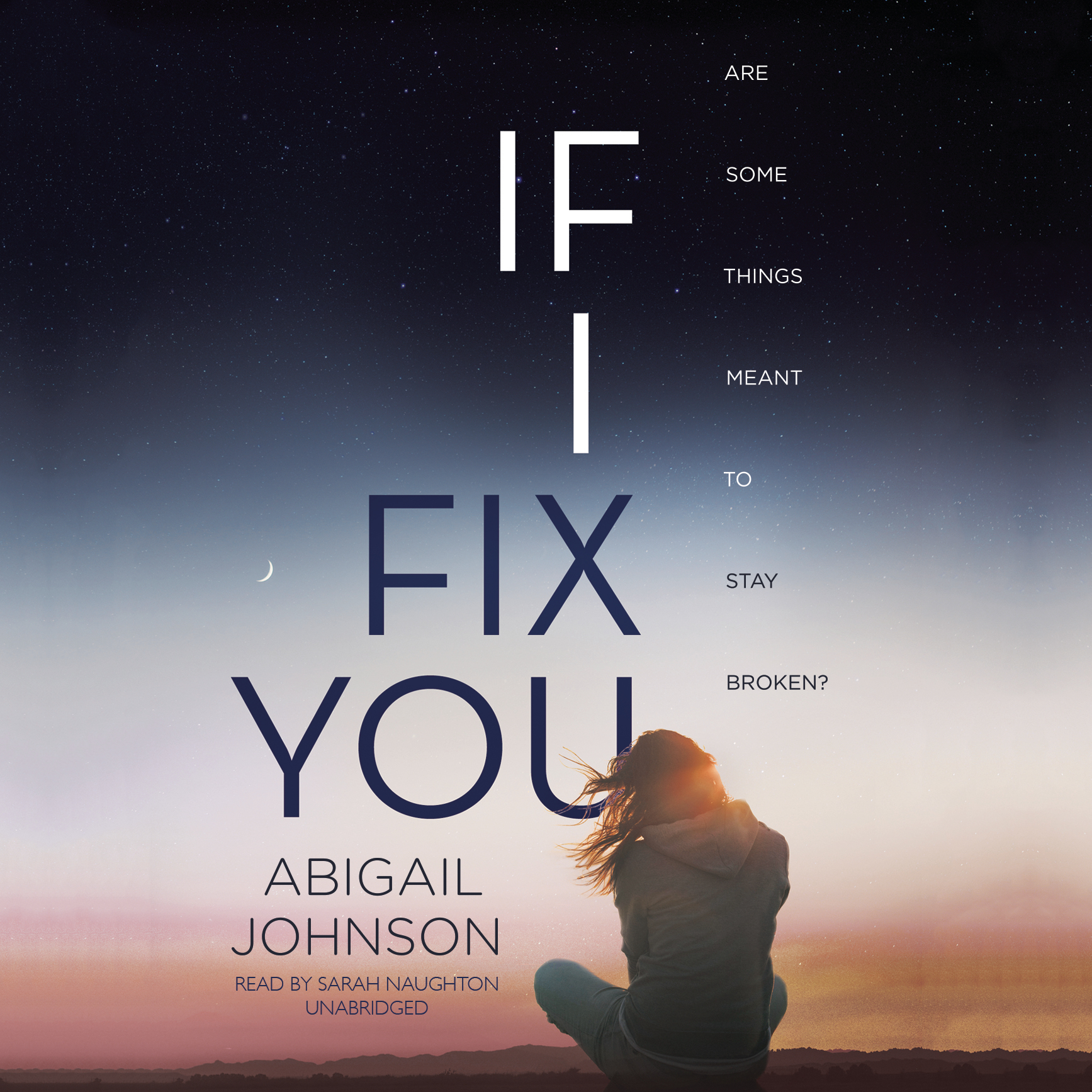 Printable If I Fix You Audiobook Cover Art