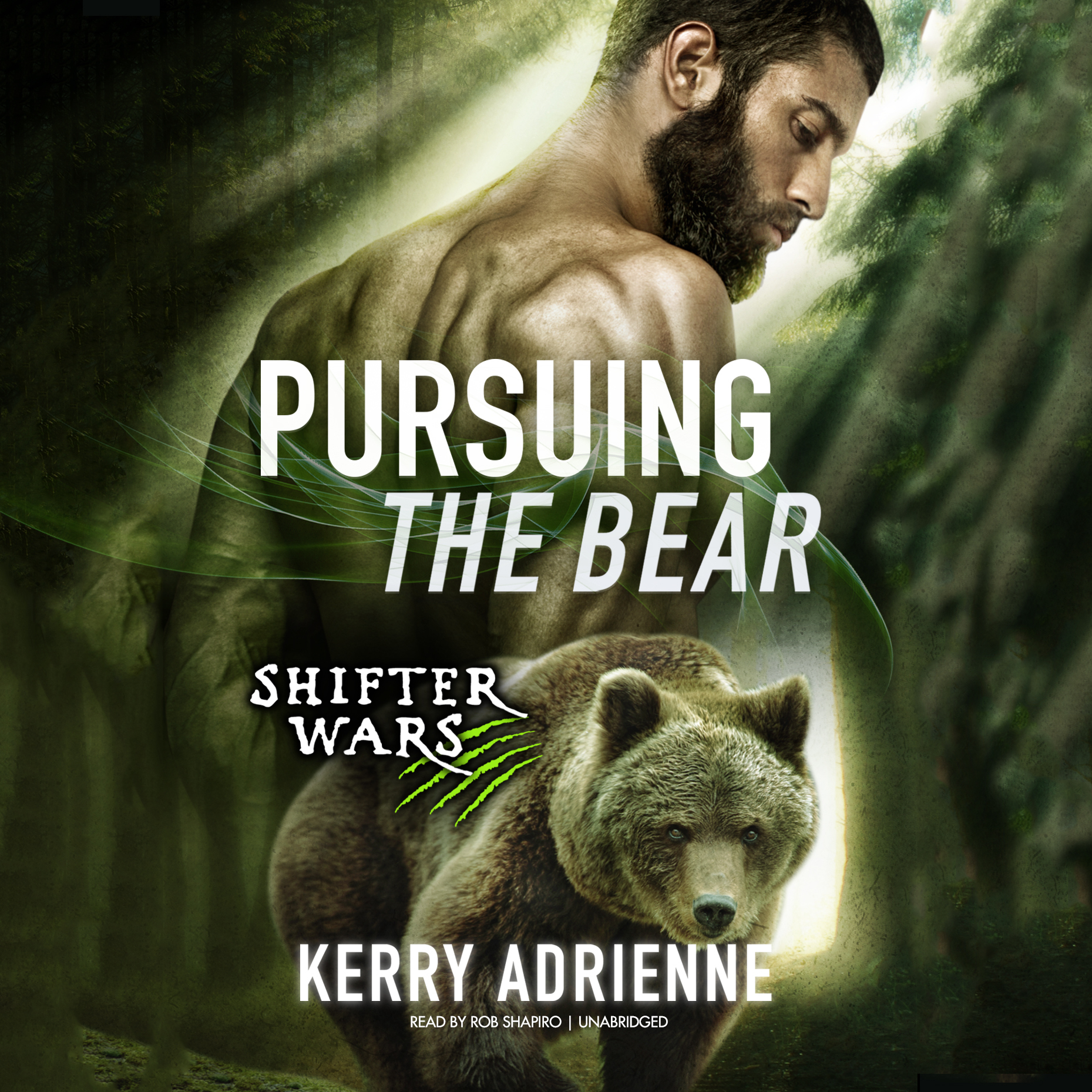 Printable Pursuing the Bear Audiobook Cover Art