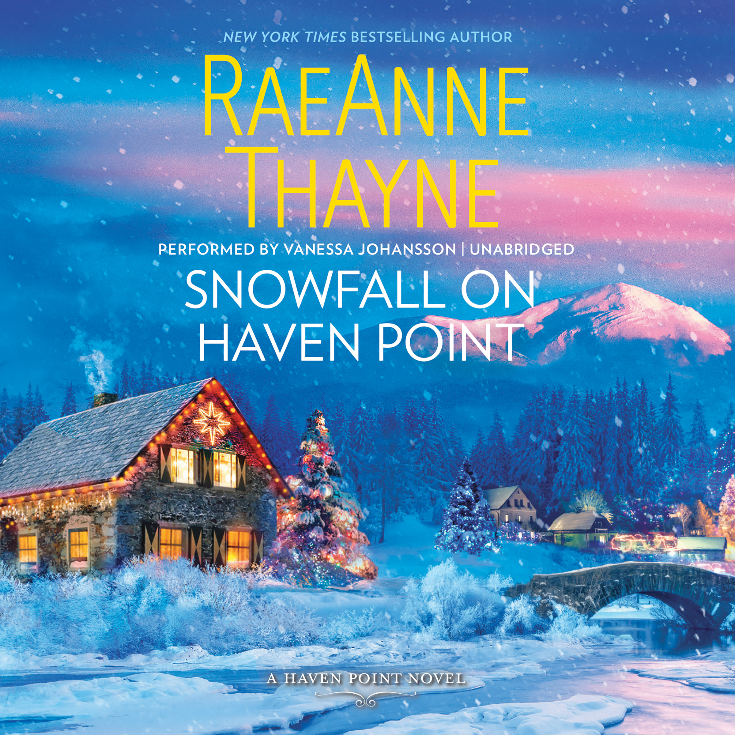 Printable Snowfall on Haven Point: Haven Point, #5 Audiobook Cover Art