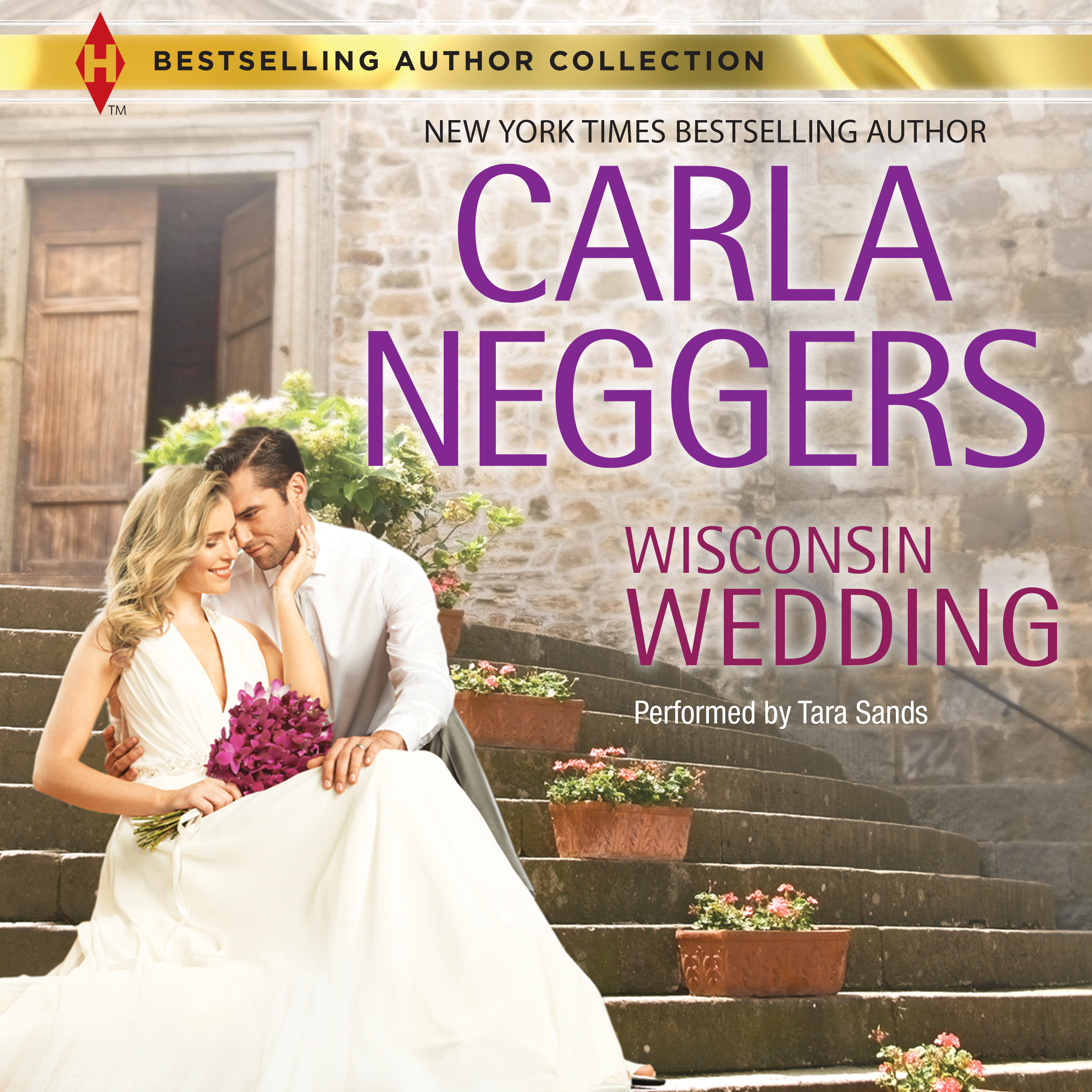 Printable Wisconsin Wedding Audiobook Cover Art