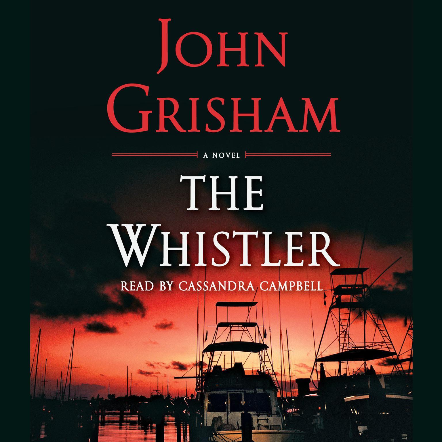 Printable The Whistler (Abridged) Audiobook Cover Art