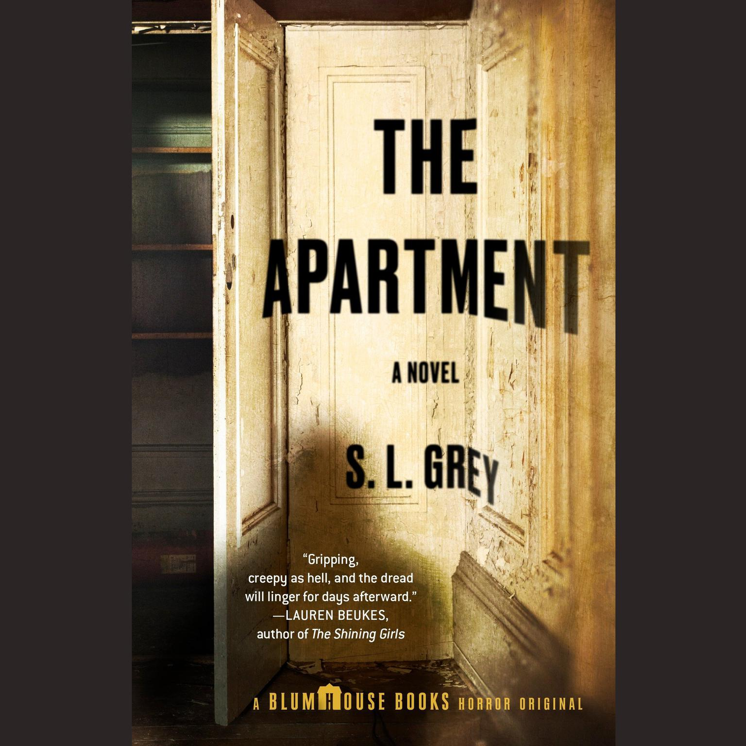 Printable The Apartment: A Horror Story (Blumhouse Books) Audiobook Cover Art