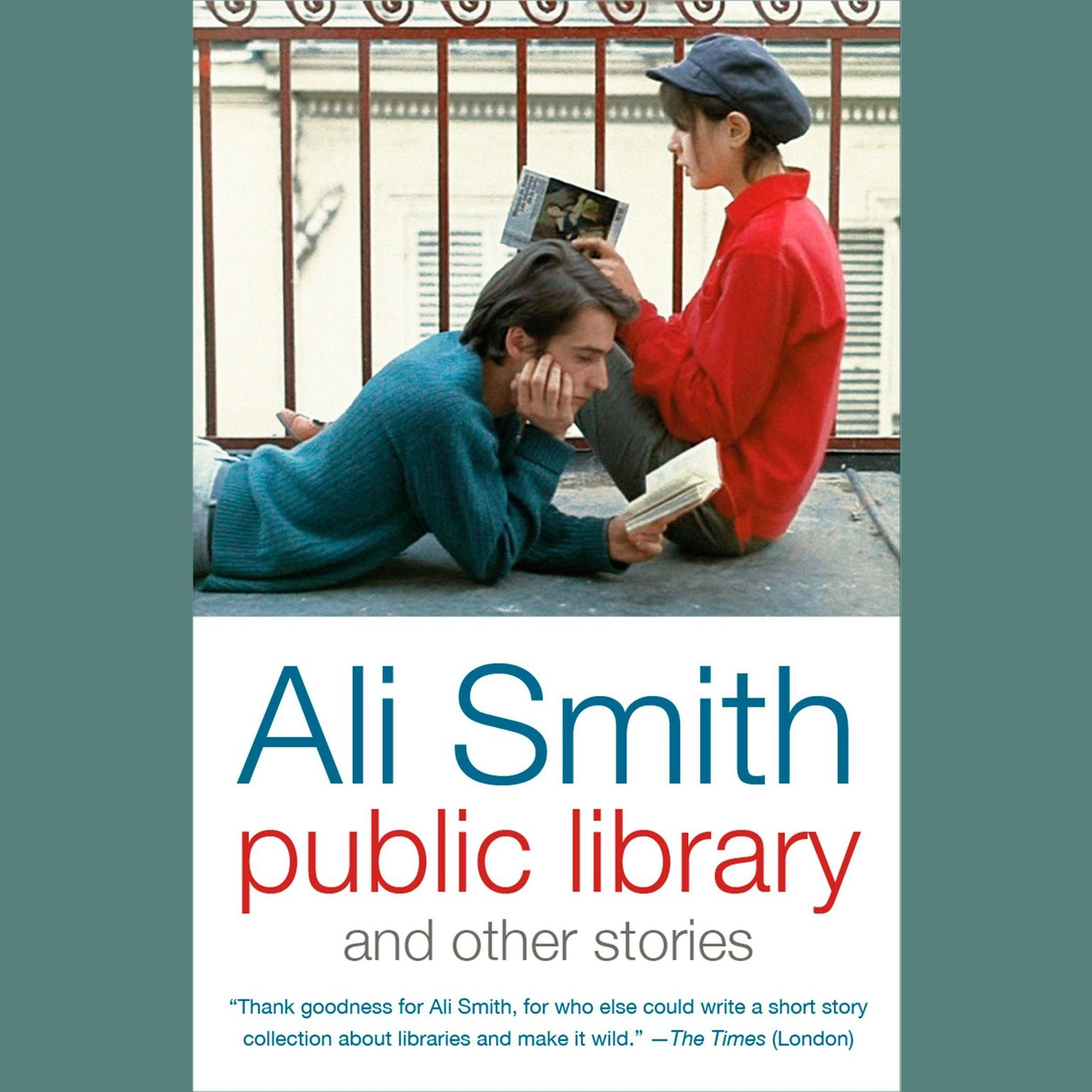 Printable Public Library and Other Stories Audiobook Cover Art
