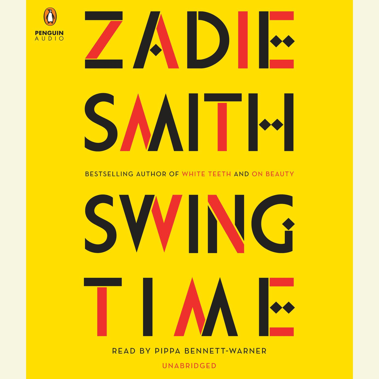 Printable Swing Time Audiobook Cover Art