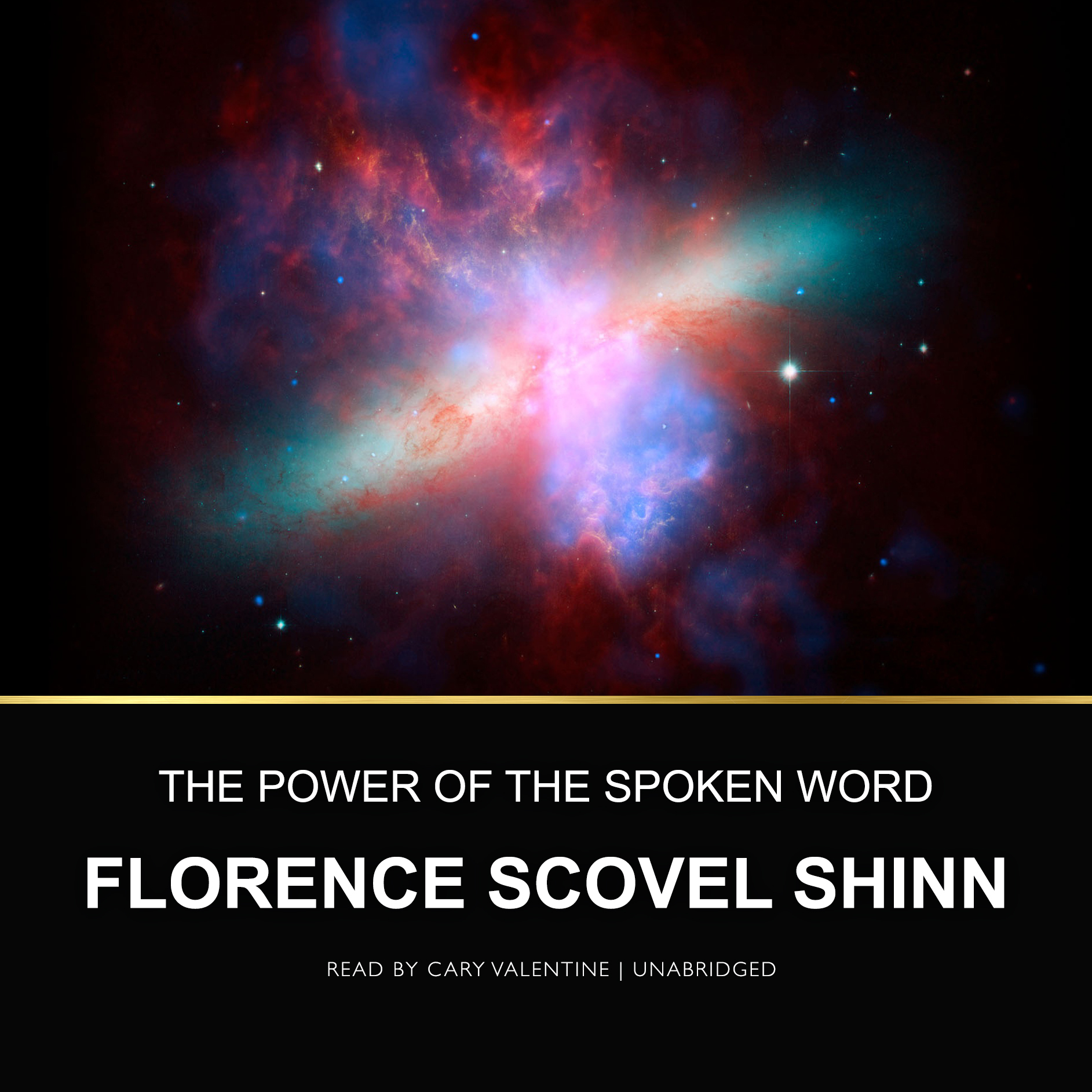 Printable The Power of the Spoken Word Audiobook Cover Art