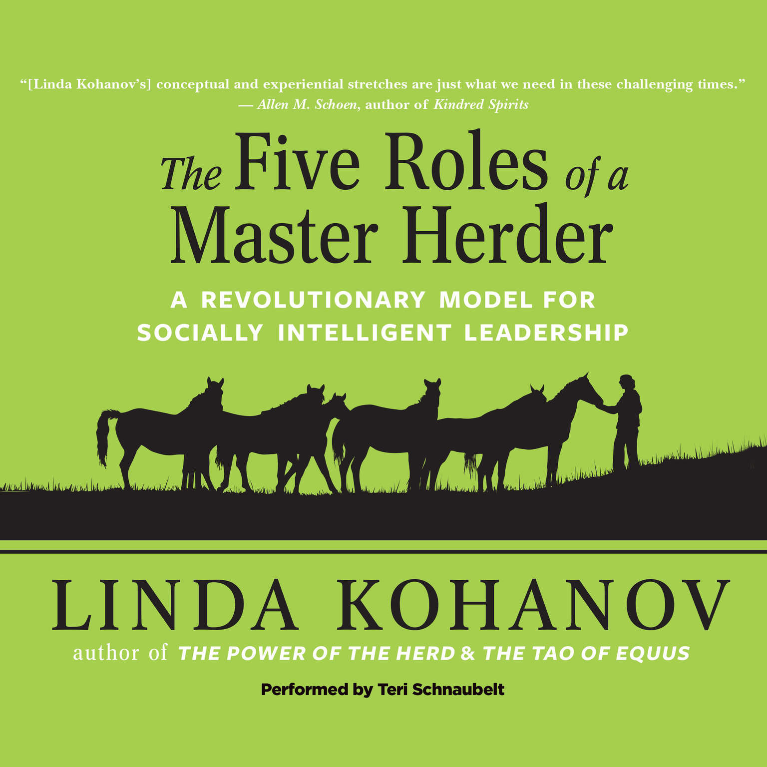 Printable Five Roles of a Master Herder: A Revolutionary Model for Socially Intelligent Leadership Audiobook Cover Art