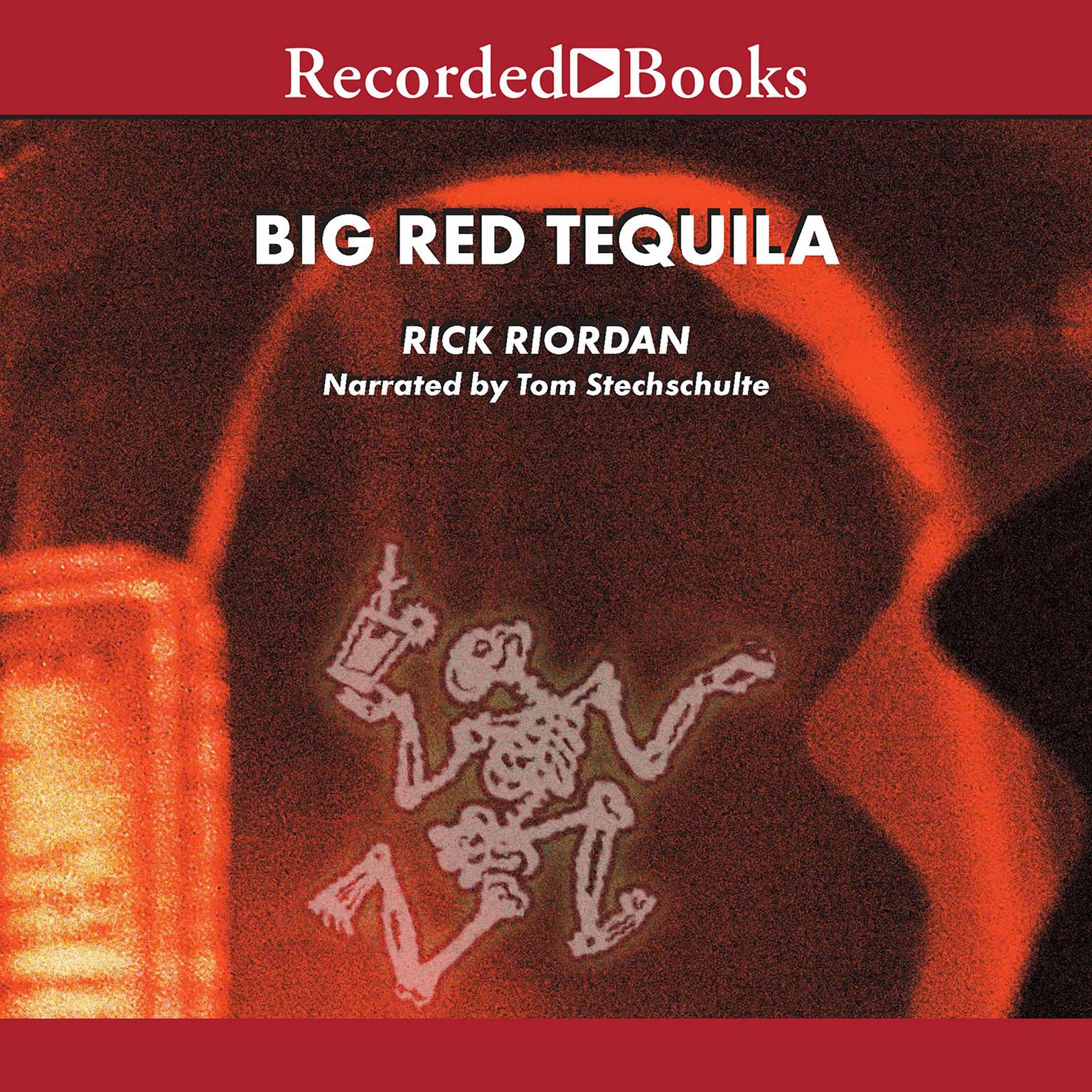 Printable Big Red Tequila Audiobook Cover Art