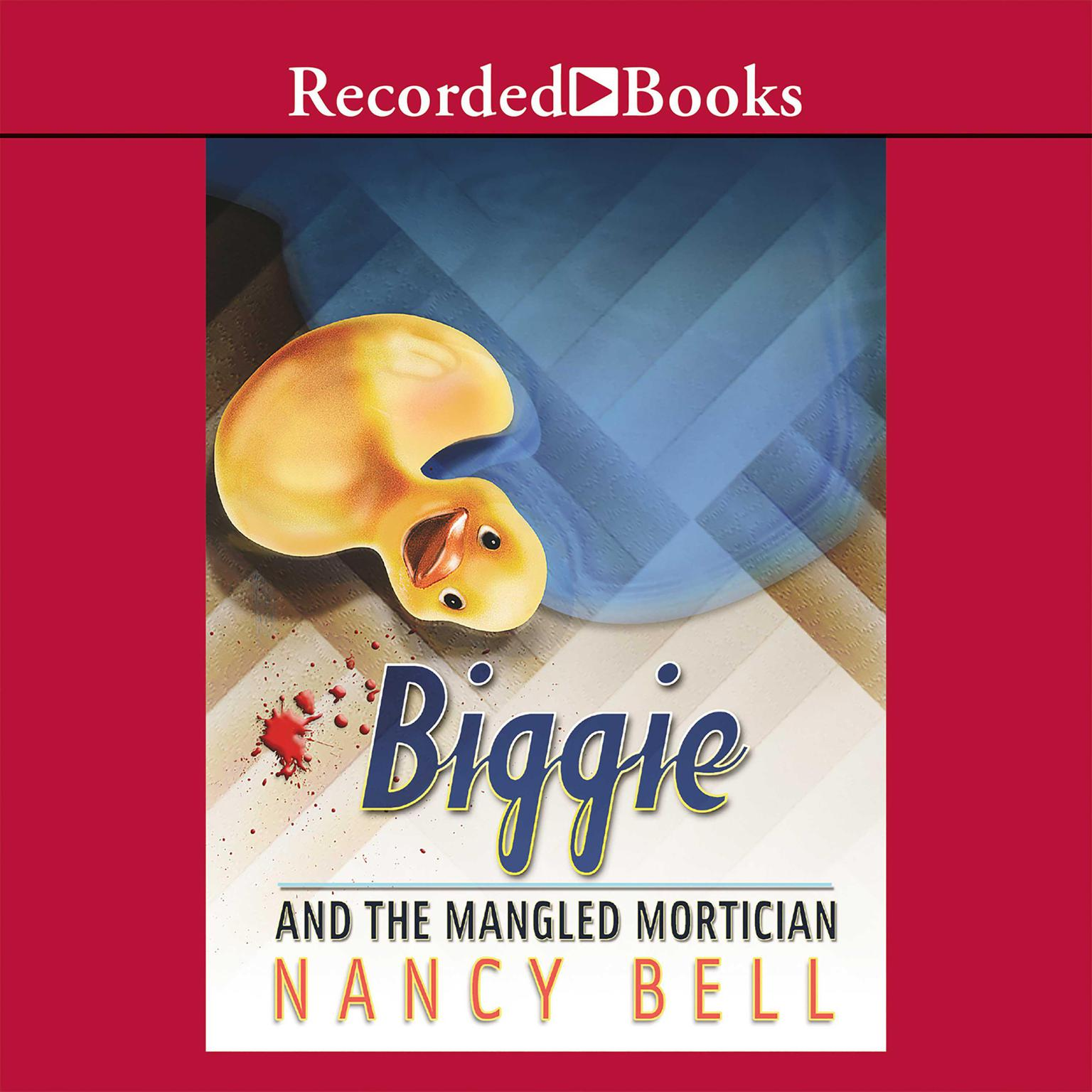 Printable Biggie and the Mangled Mortician Audiobook Cover Art