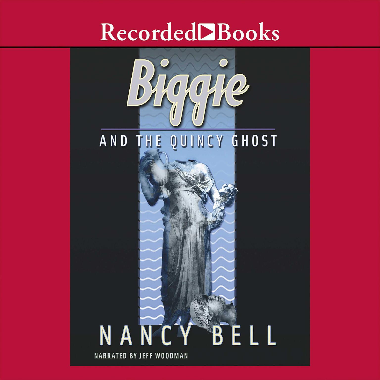 Printable Biggie and the Quincy Ghost Audiobook Cover Art