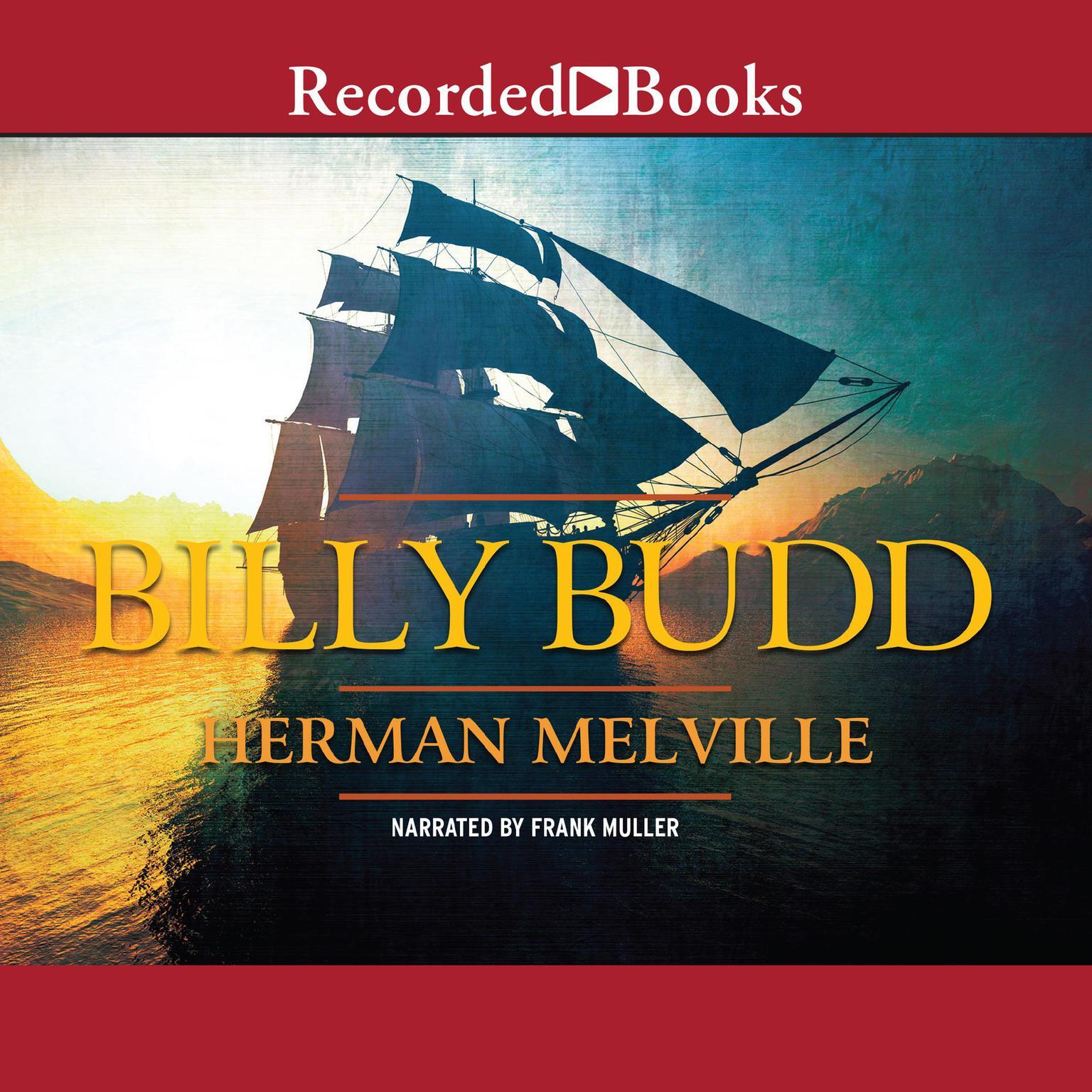 Printable Billy Budd Audiobook Cover Art