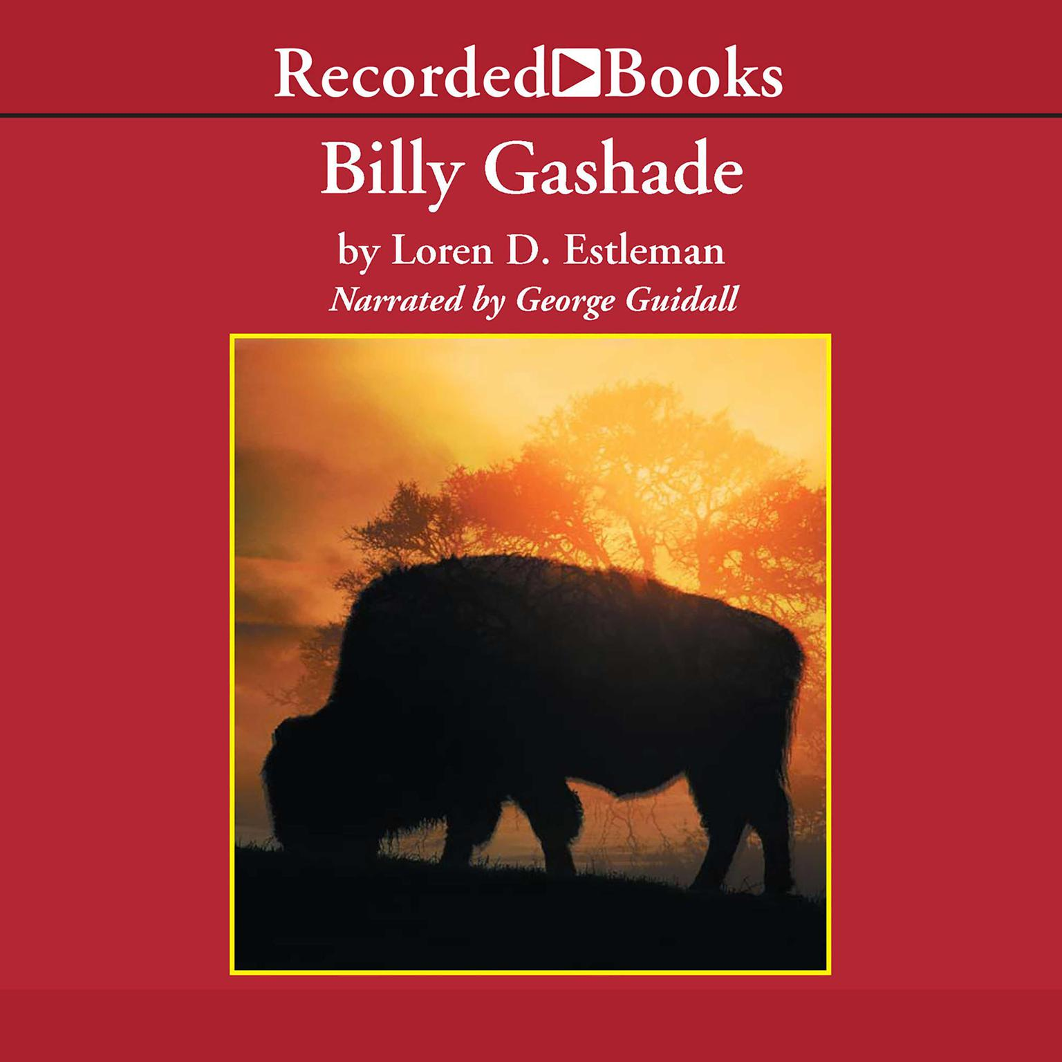 Printable Billy Gashade Audiobook Cover Art