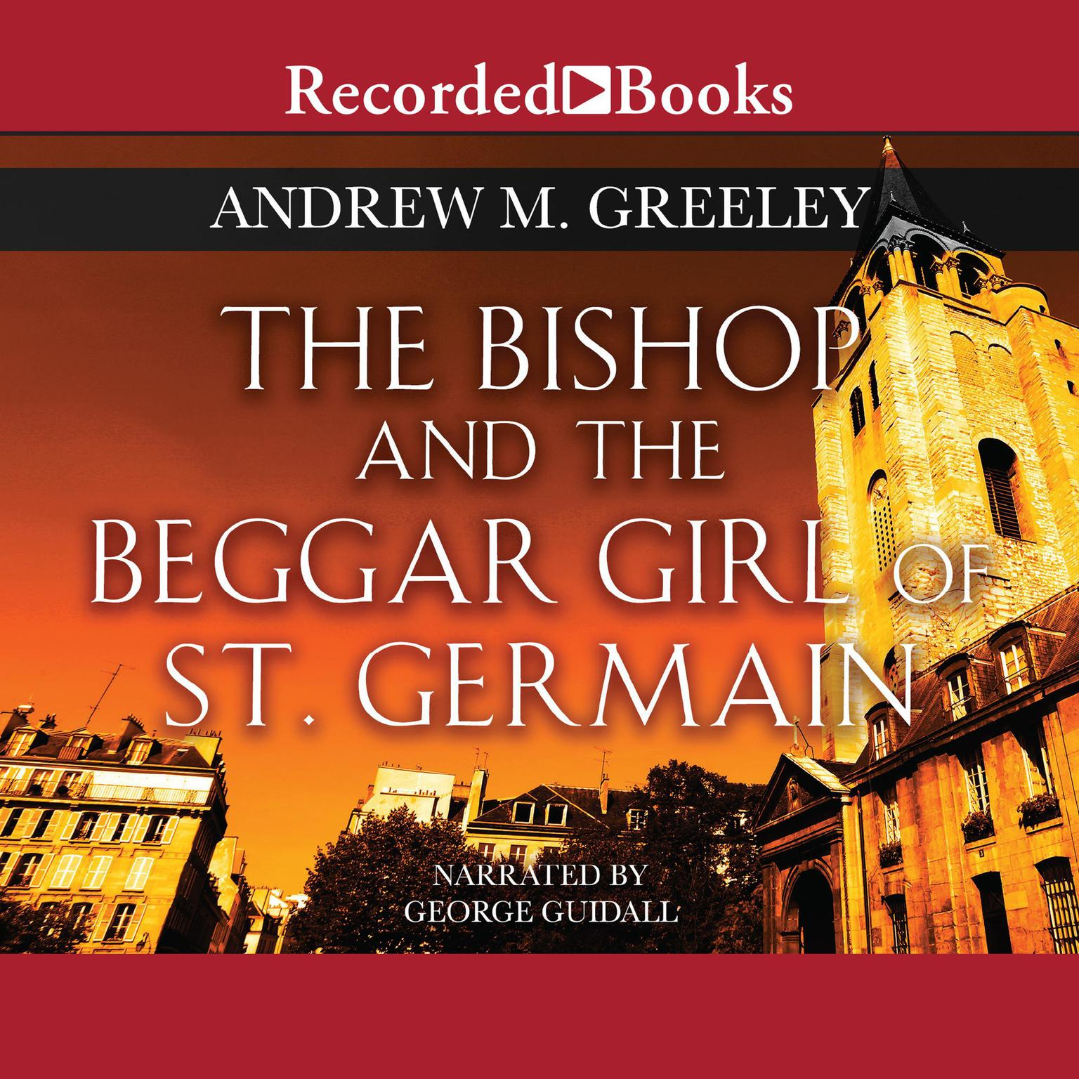 Printable The Bishop and the Beggar Girl of St. Germain Audiobook Cover Art