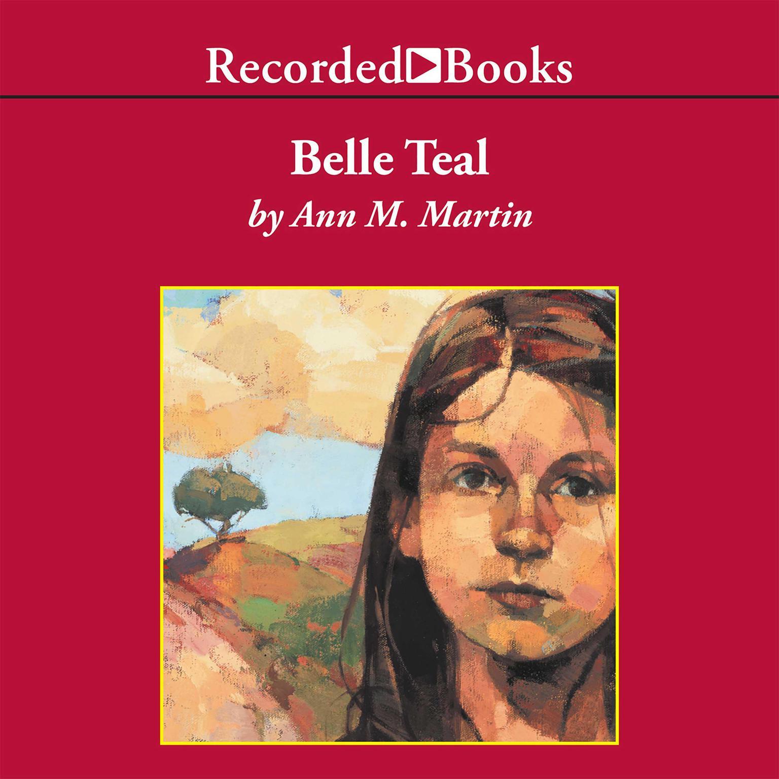 Printable Belle Teal Audiobook Cover Art