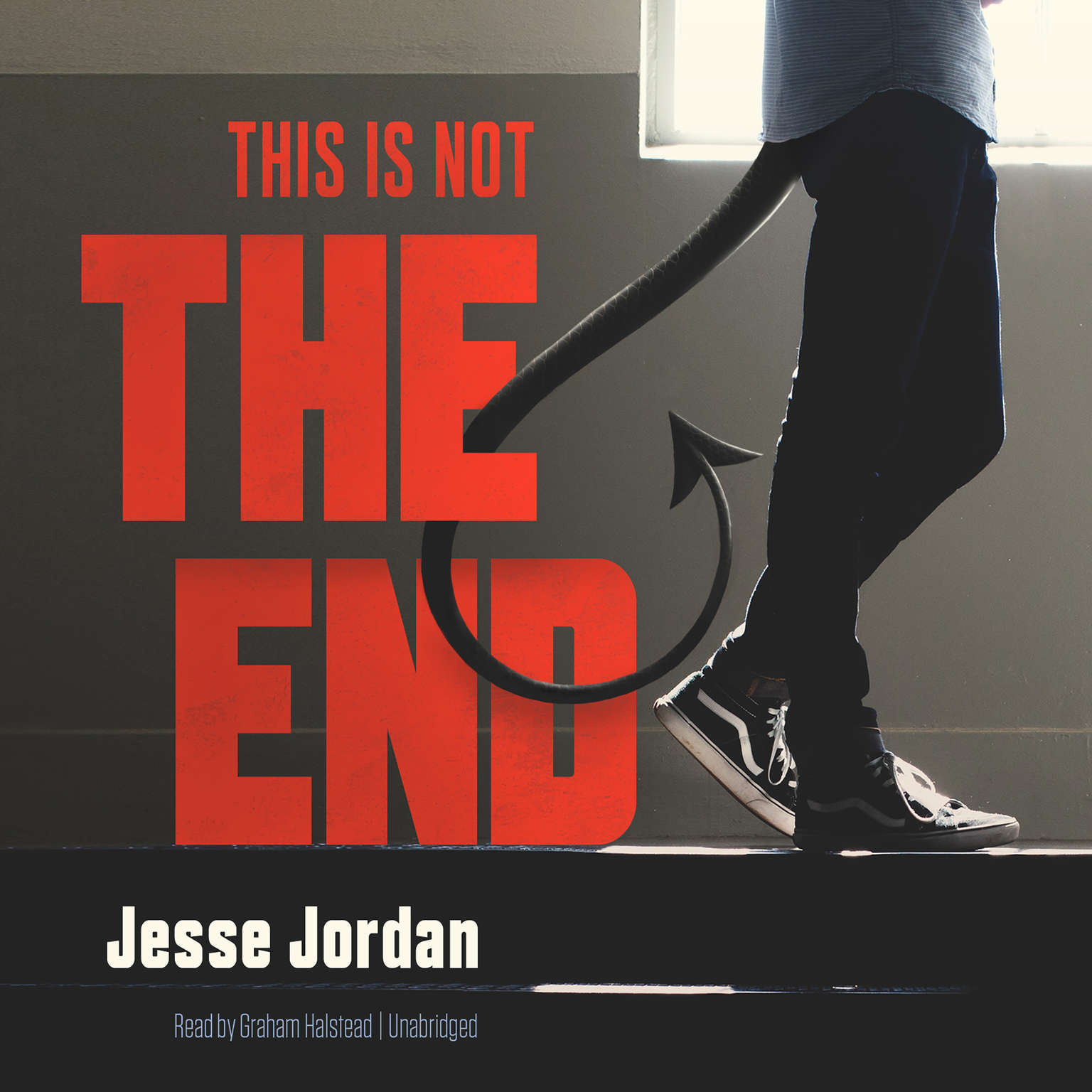 Printable This Is Not the End Audiobook Cover Art