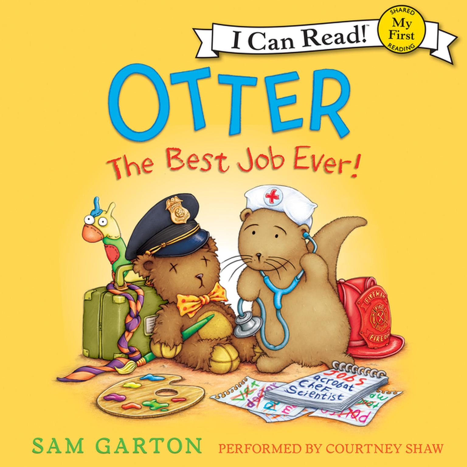 Printable Otter: The Best Job Ever! Audiobook Cover Art
