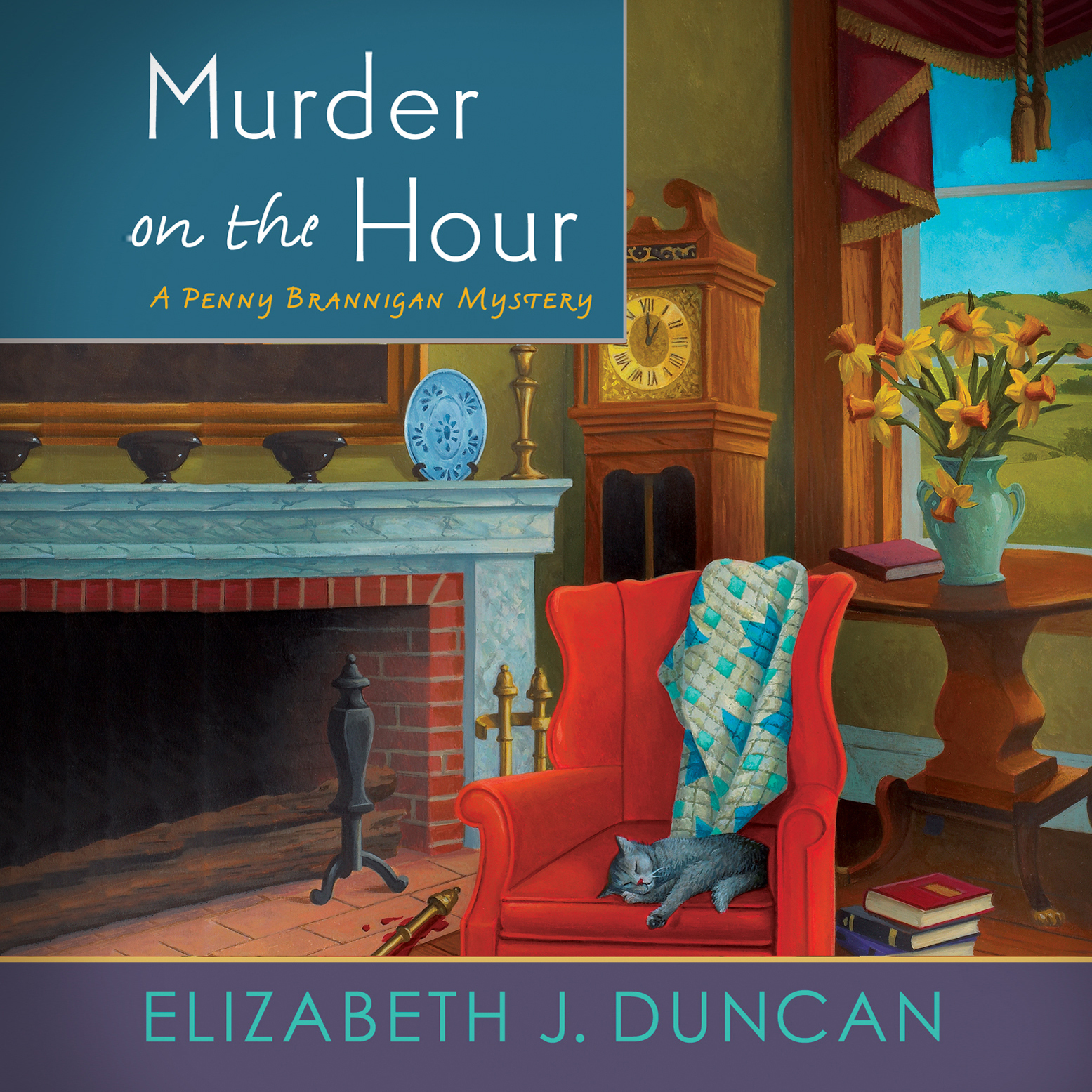 Printable Murder on the Hour: A Penny Brannigan Mystery Audiobook Cover Art