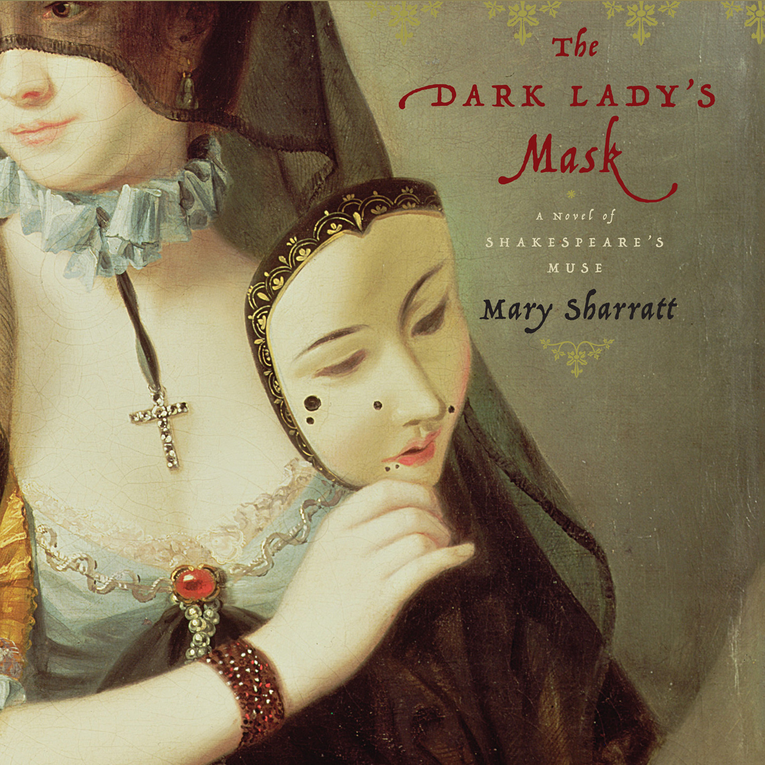 Printable The Dark Lady's Mask Audiobook Cover Art
