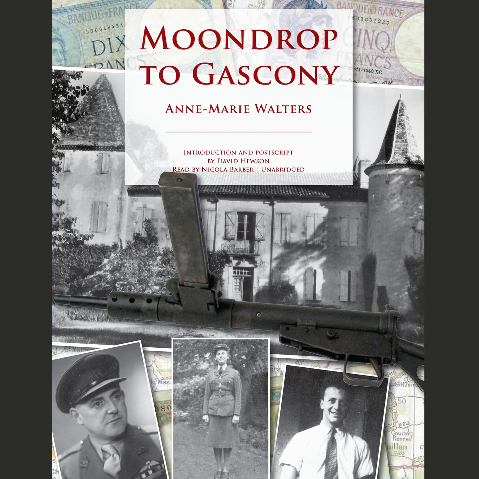 Printable Moondrop to Gascony Audiobook Cover Art