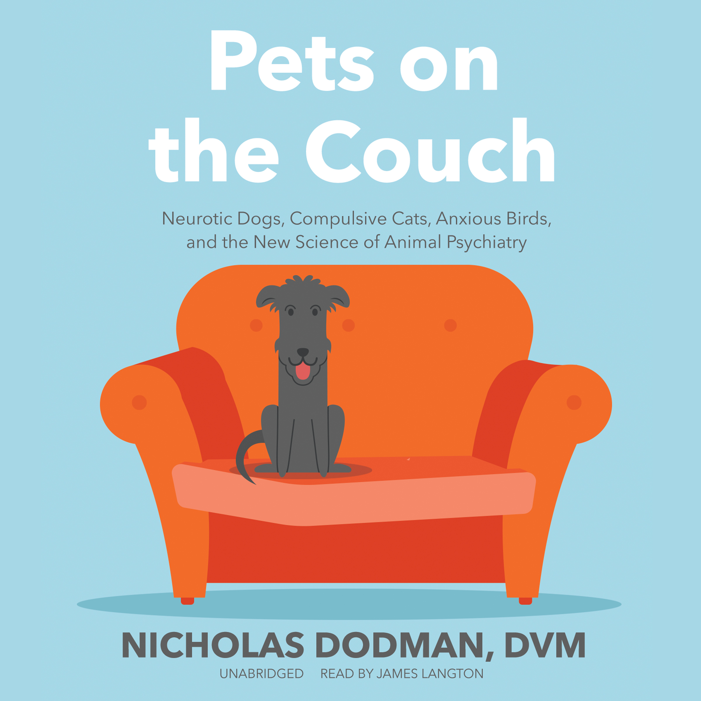 Printable Pets on the Couch: Neurotic Dogs, Compulsive Cats, Anxious Birds, and the New Science of Animal Psychiatry Audiobook Cover Art