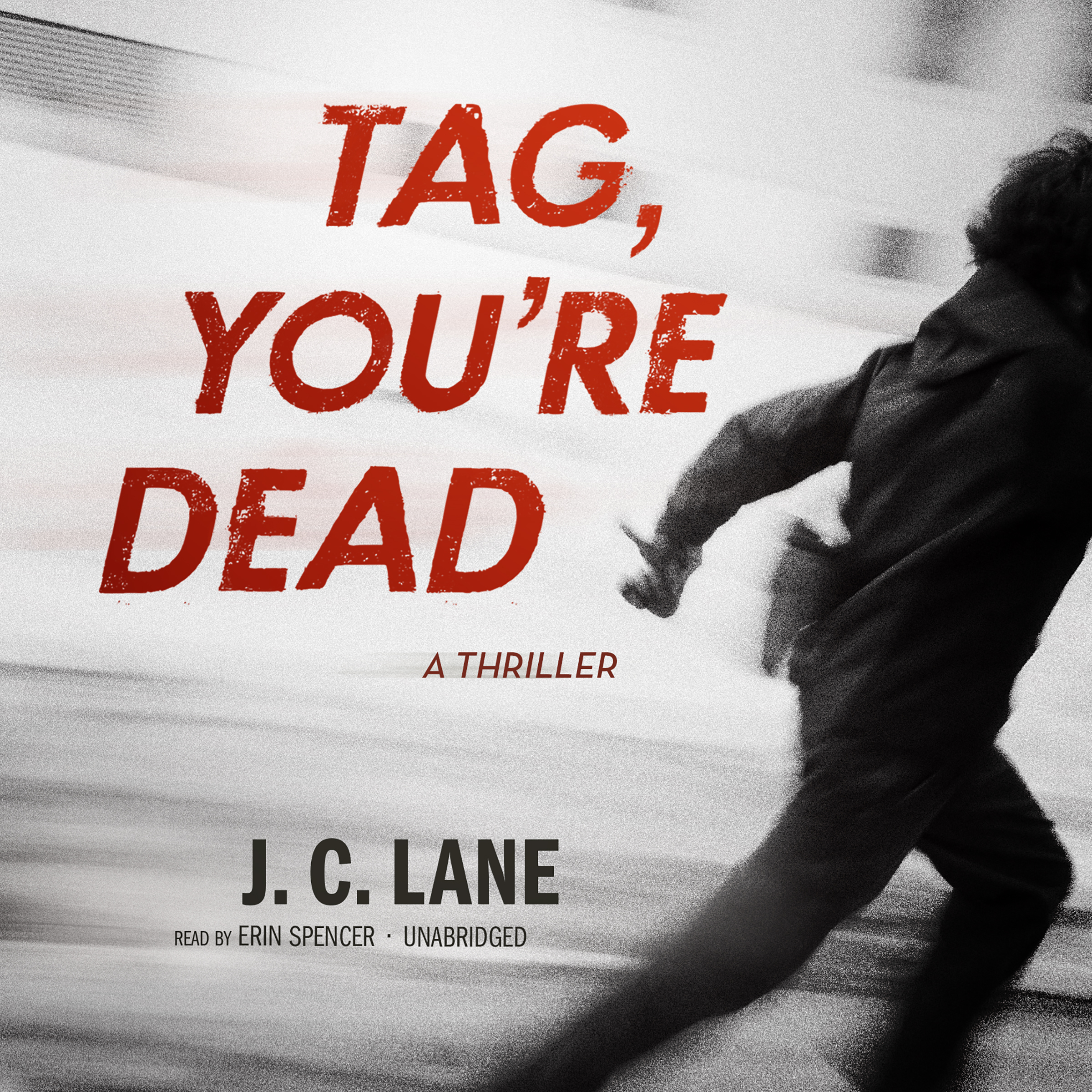 Printable Tag, You're Dead Audiobook Cover Art