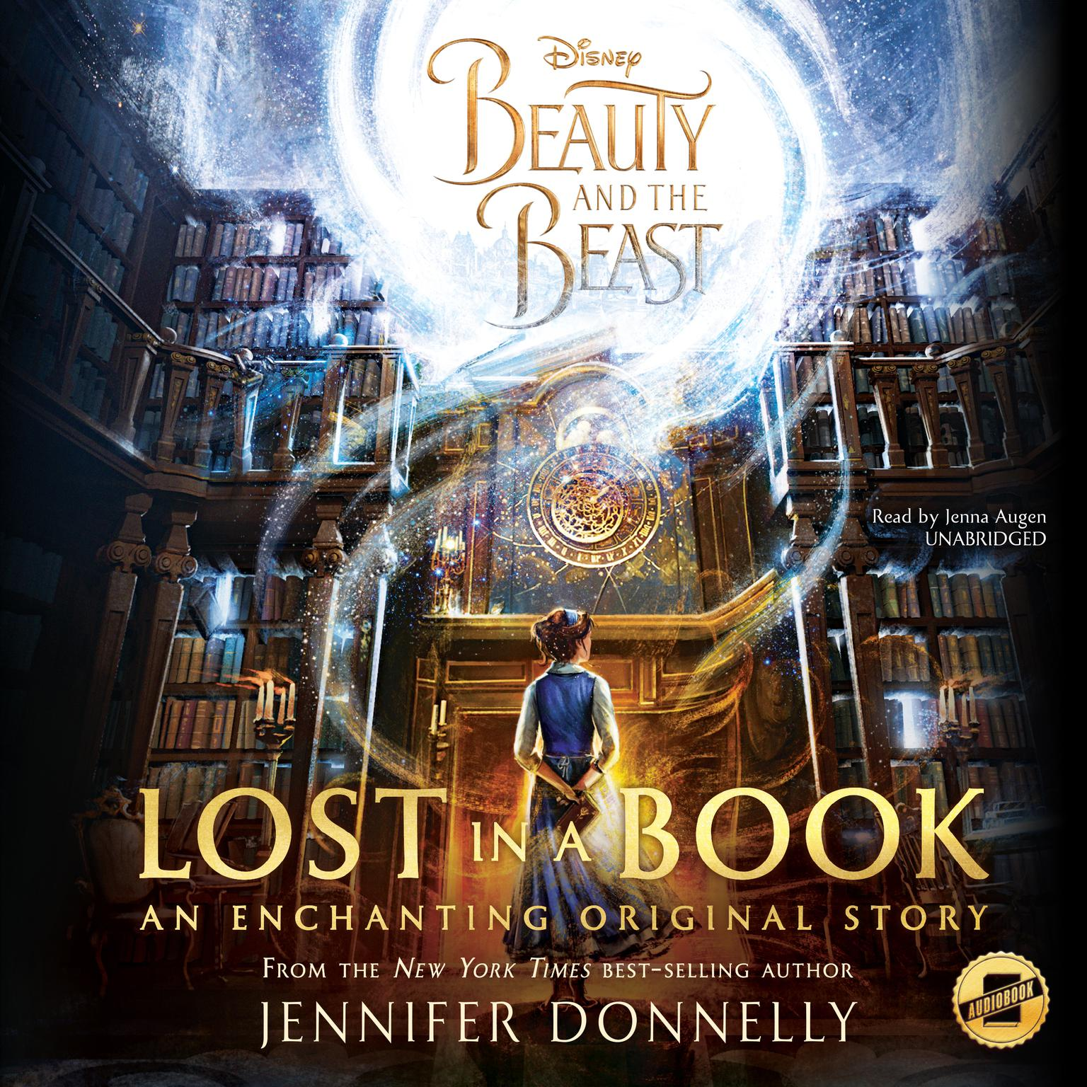 Printable Beauty and the Beast: Lost in a Book Audiobook Cover Art
