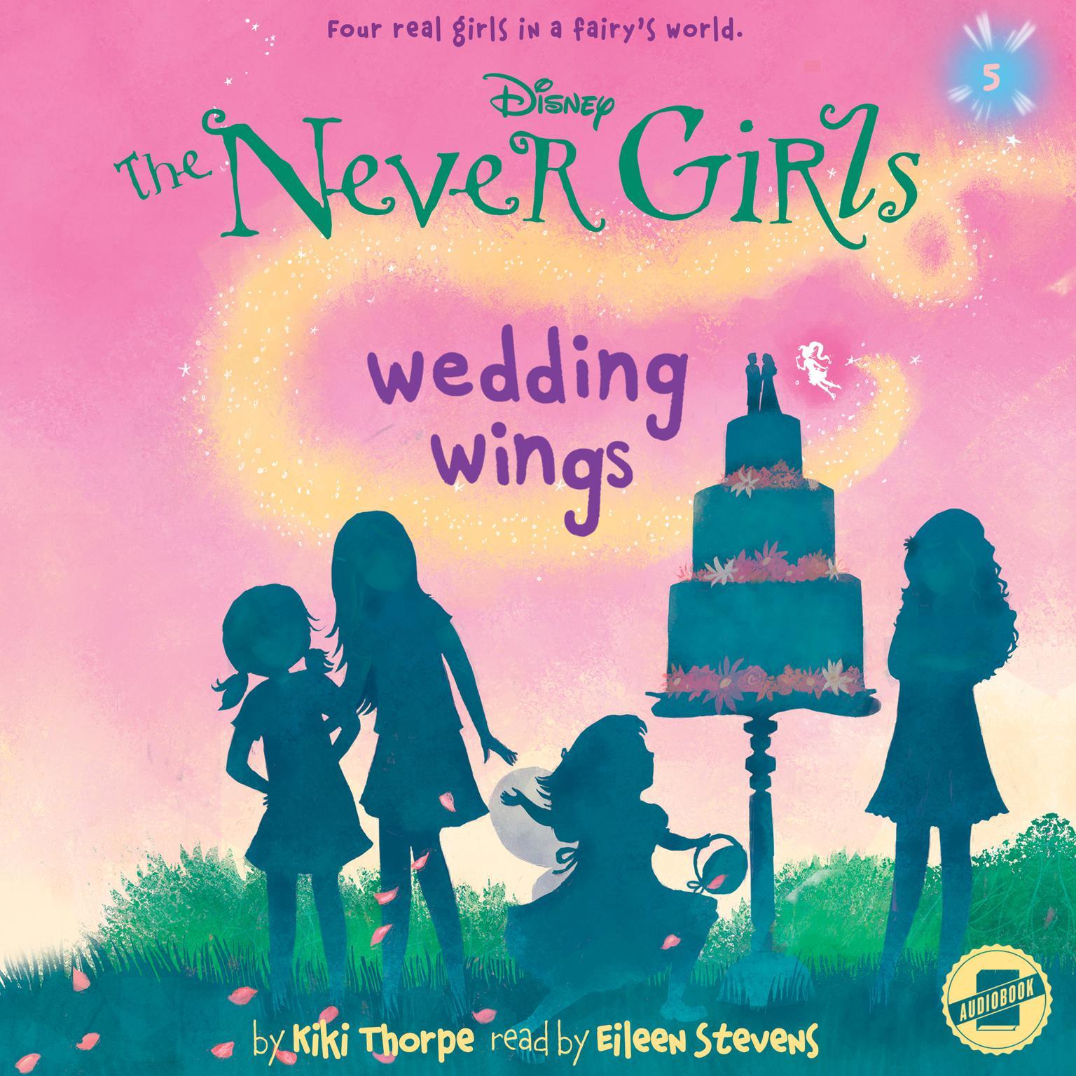 Printable Wedding Wings Audiobook Cover Art