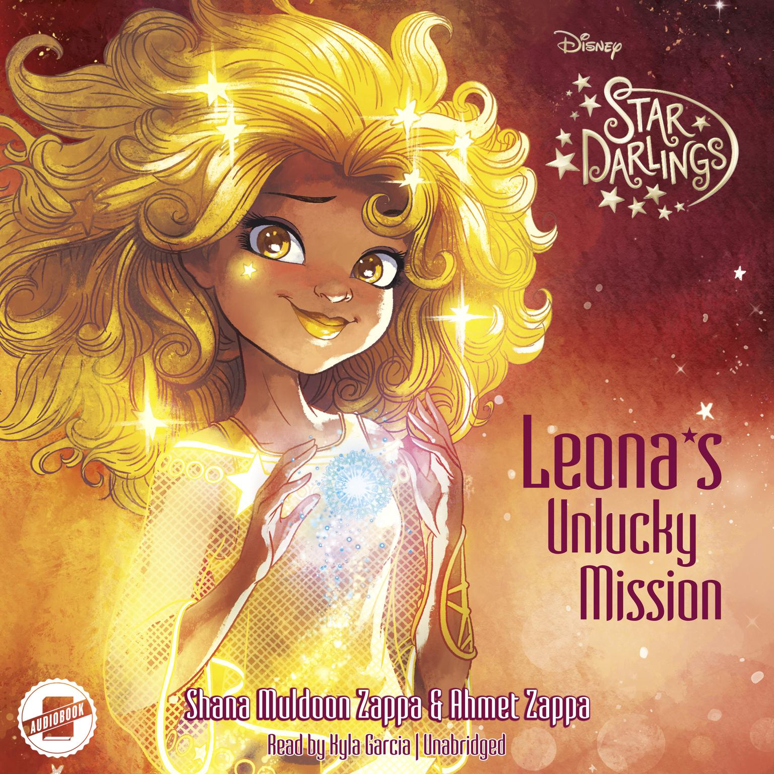 Printable Leona's Unlucky Mission Audiobook Cover Art