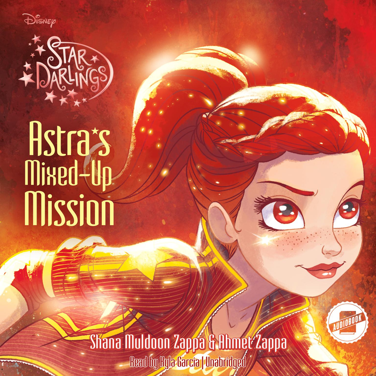 Printable Astra's Mixed-Up Mission Audiobook Cover Art