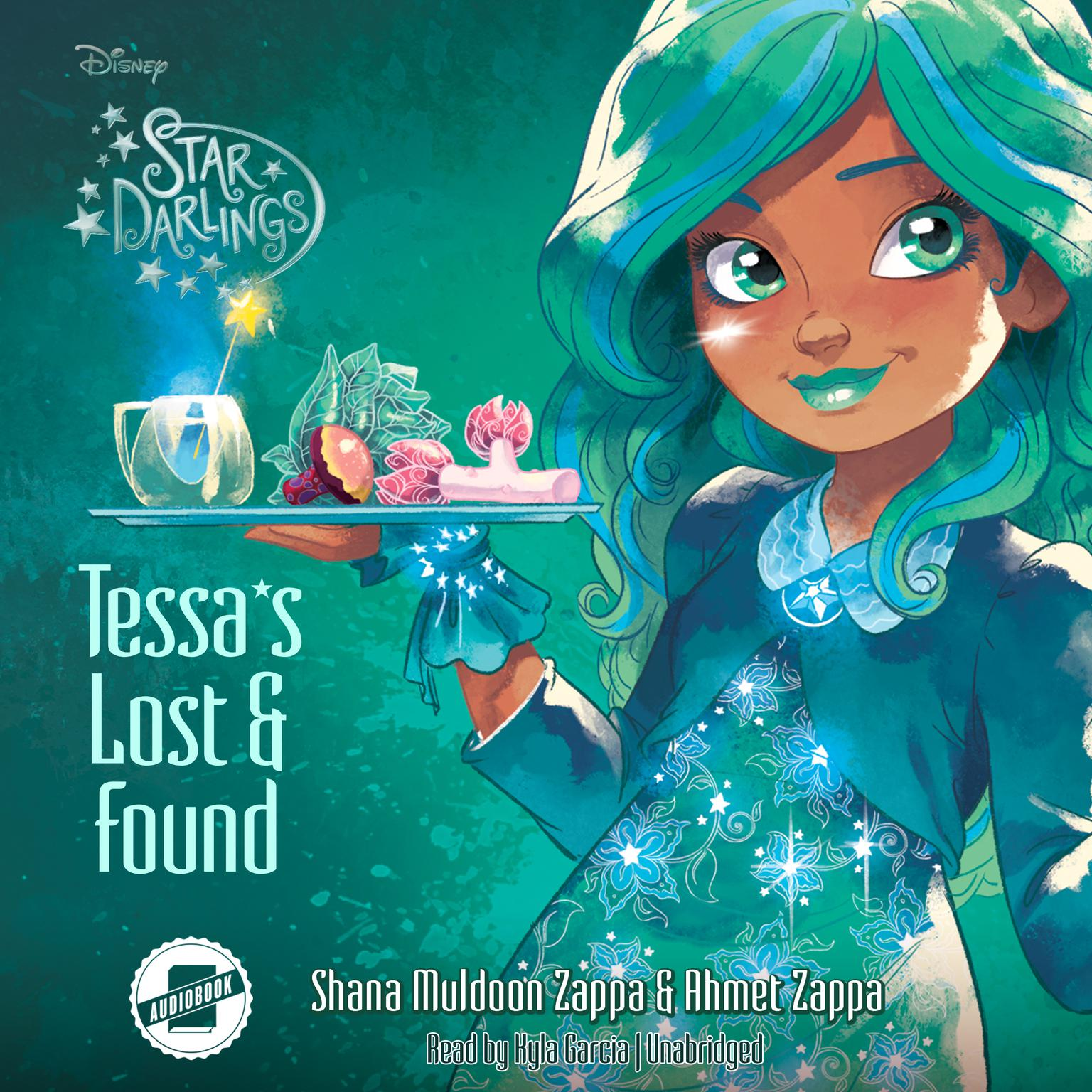 Printable Tessa's Lost and Found Audiobook Cover Art