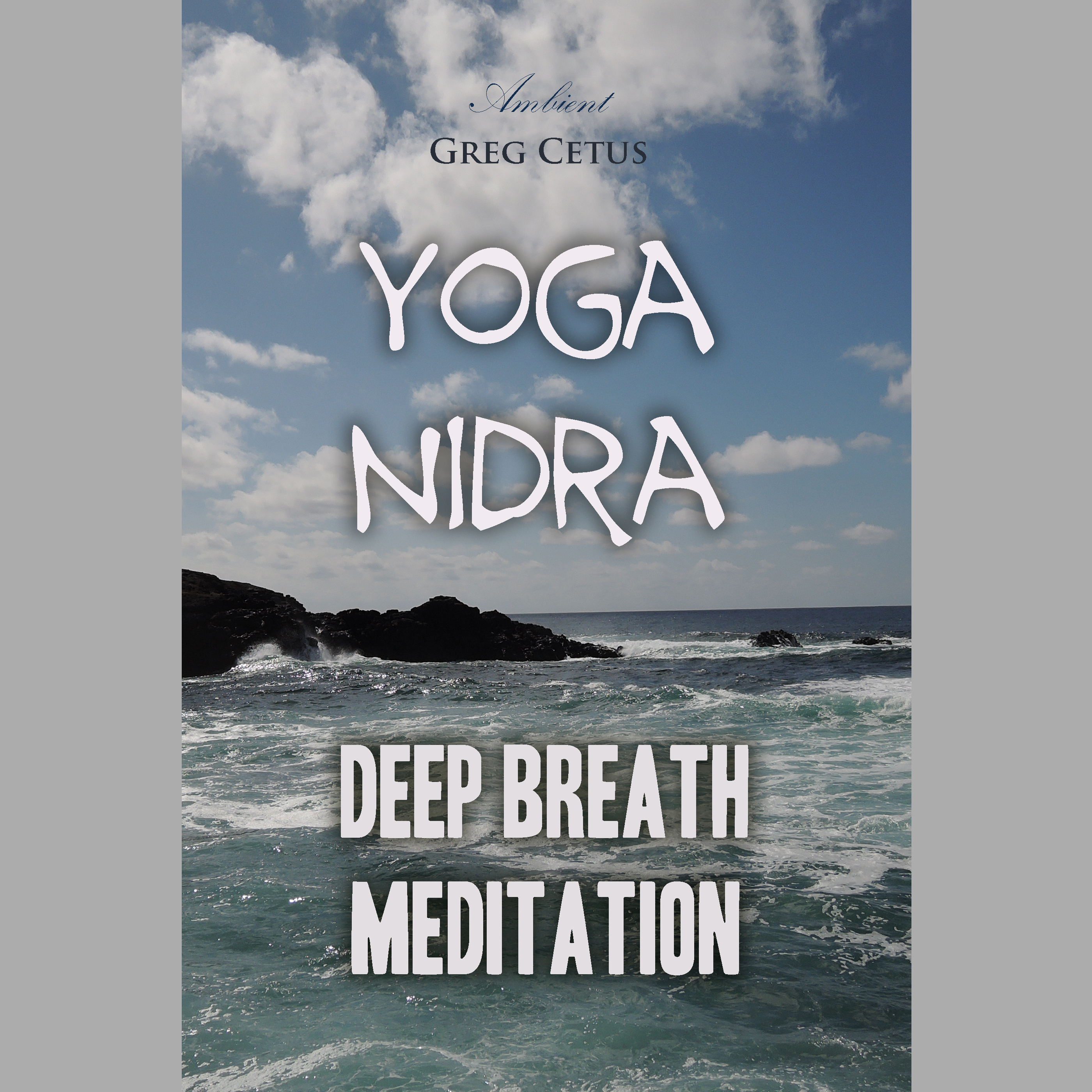 Printable Yoga Nidra: Deep Breath Meditation Audiobook Cover Art