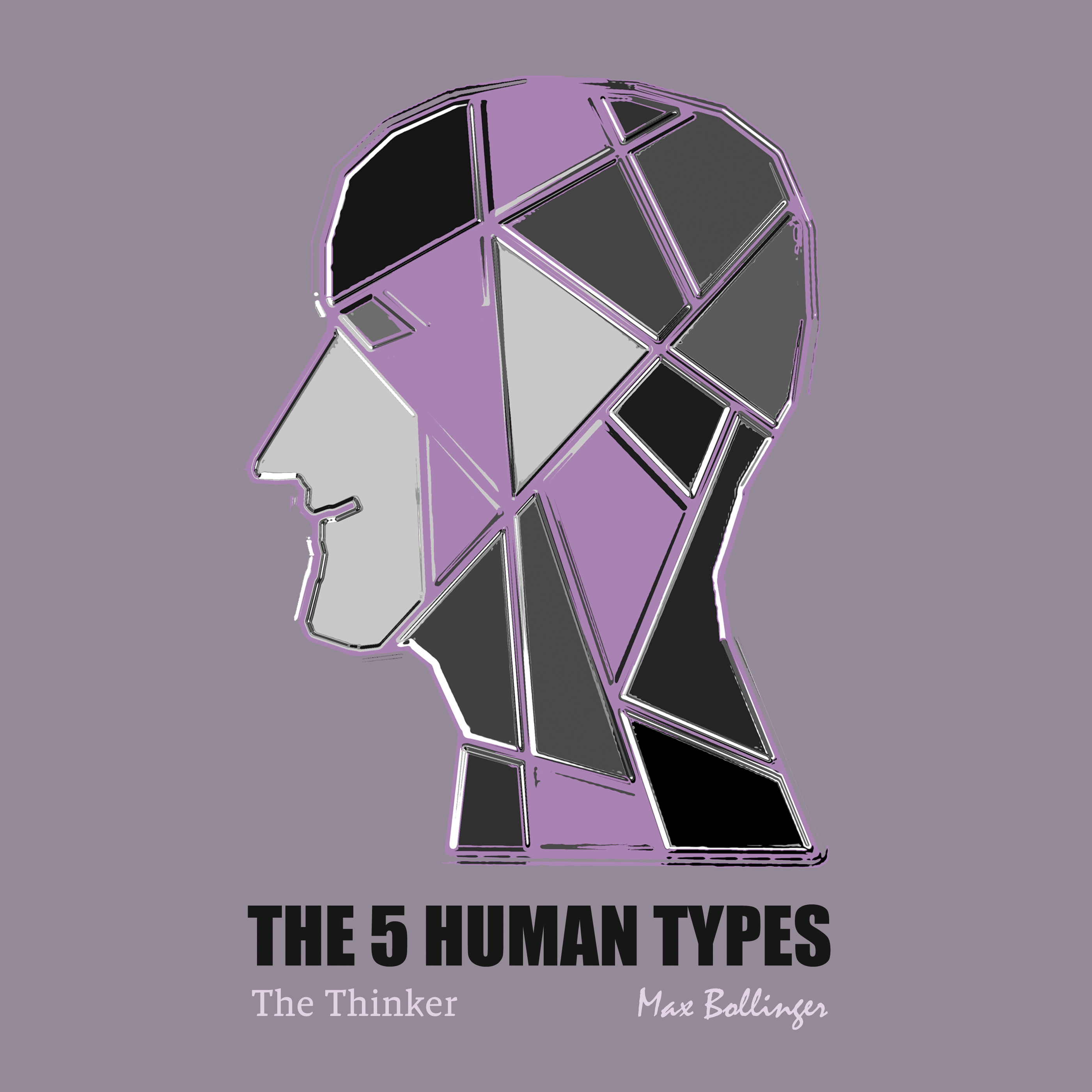 Printable The 5 Human Types Volume 5: (The Thinker) The Hungry Philosopher Audiobook Cover Art