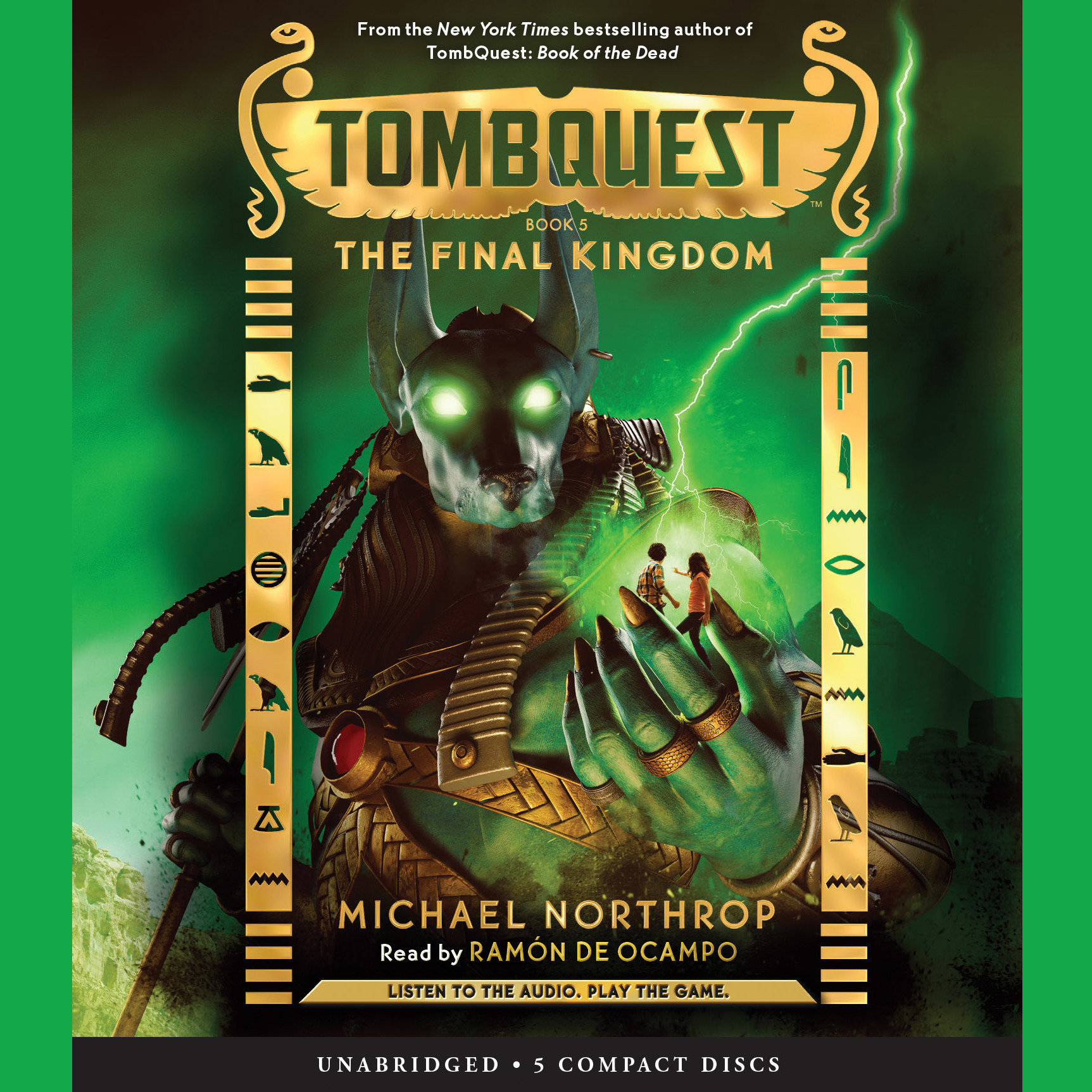 Printable Tombquest #5: The Final Kingdom Audiobook Cover Art