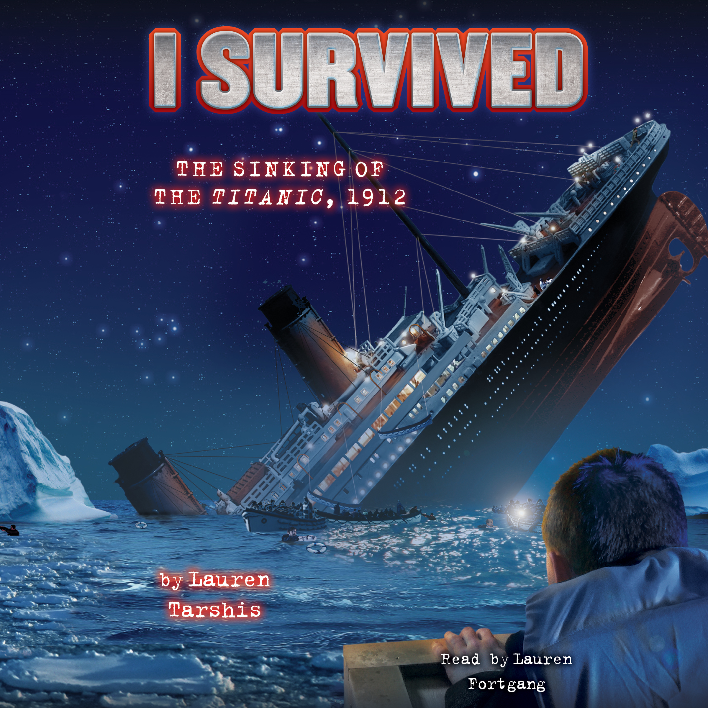 Printable I Survived #01: I Survived the Sinking of the Titanic, 1912 Audiobook Cover Art