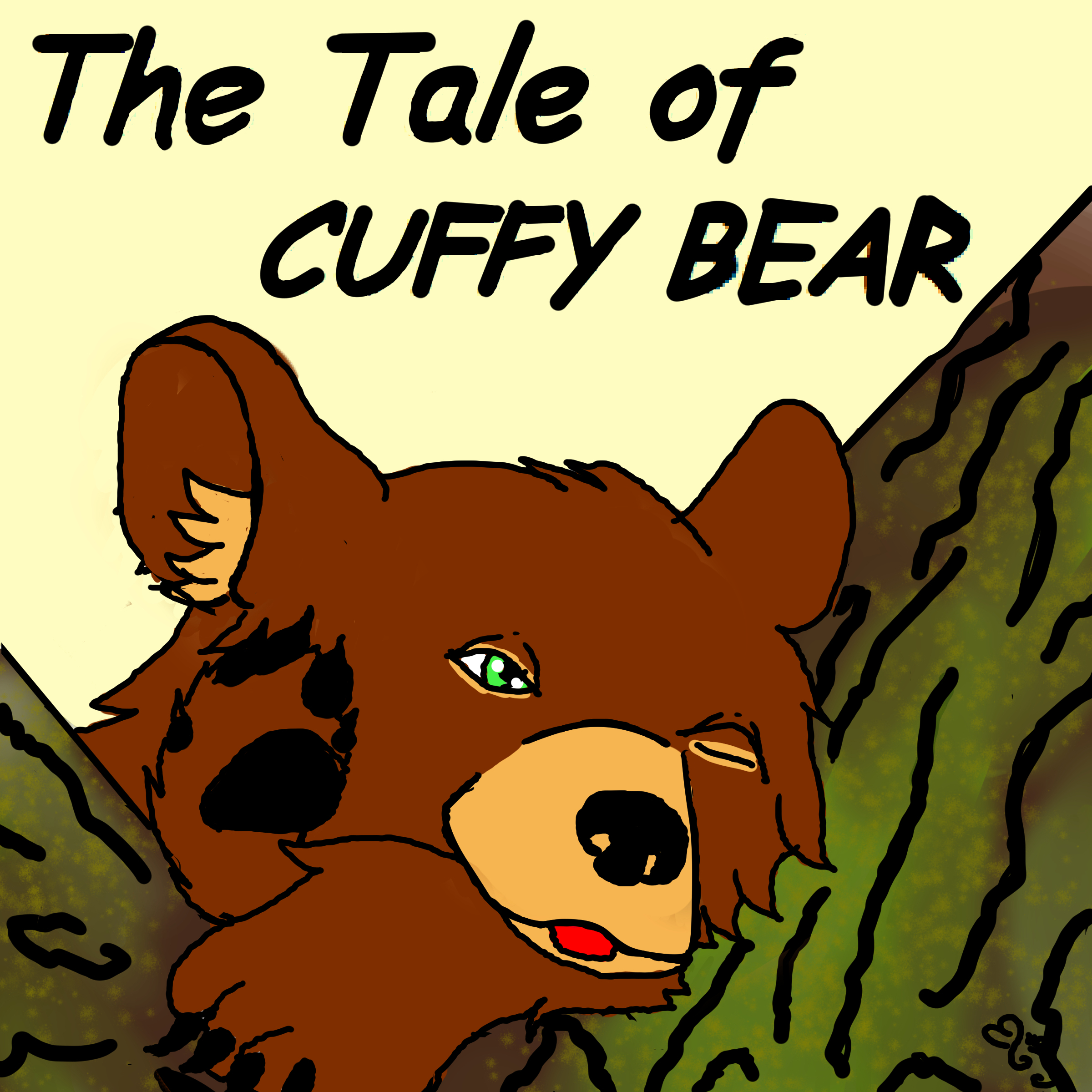 Printable The Tale of Cuffy Bear Audiobook Cover Art