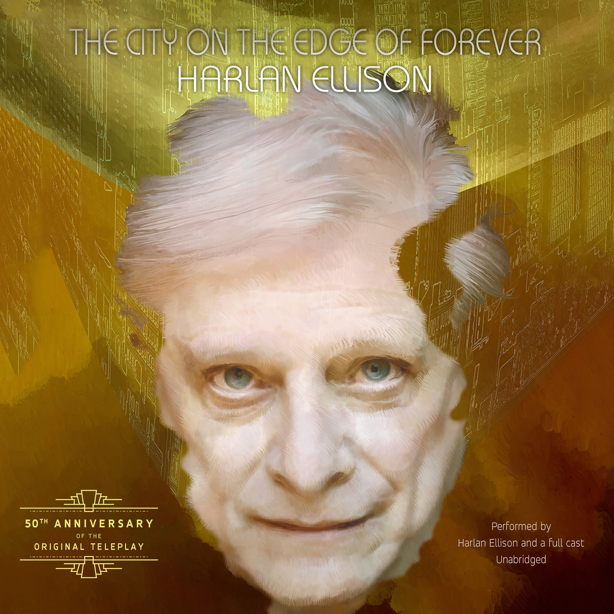 Printable The City on the Edge of Forever Audiobook Cover Art