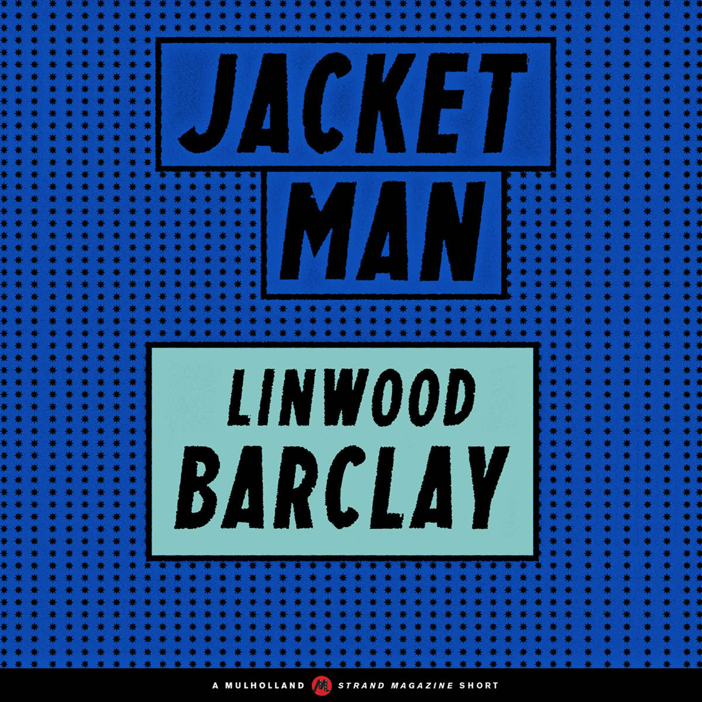 Printable Jacket Man Audiobook Cover Art