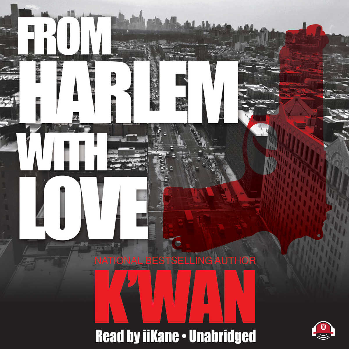 Printable From Harlem with Love Audiobook Cover Art