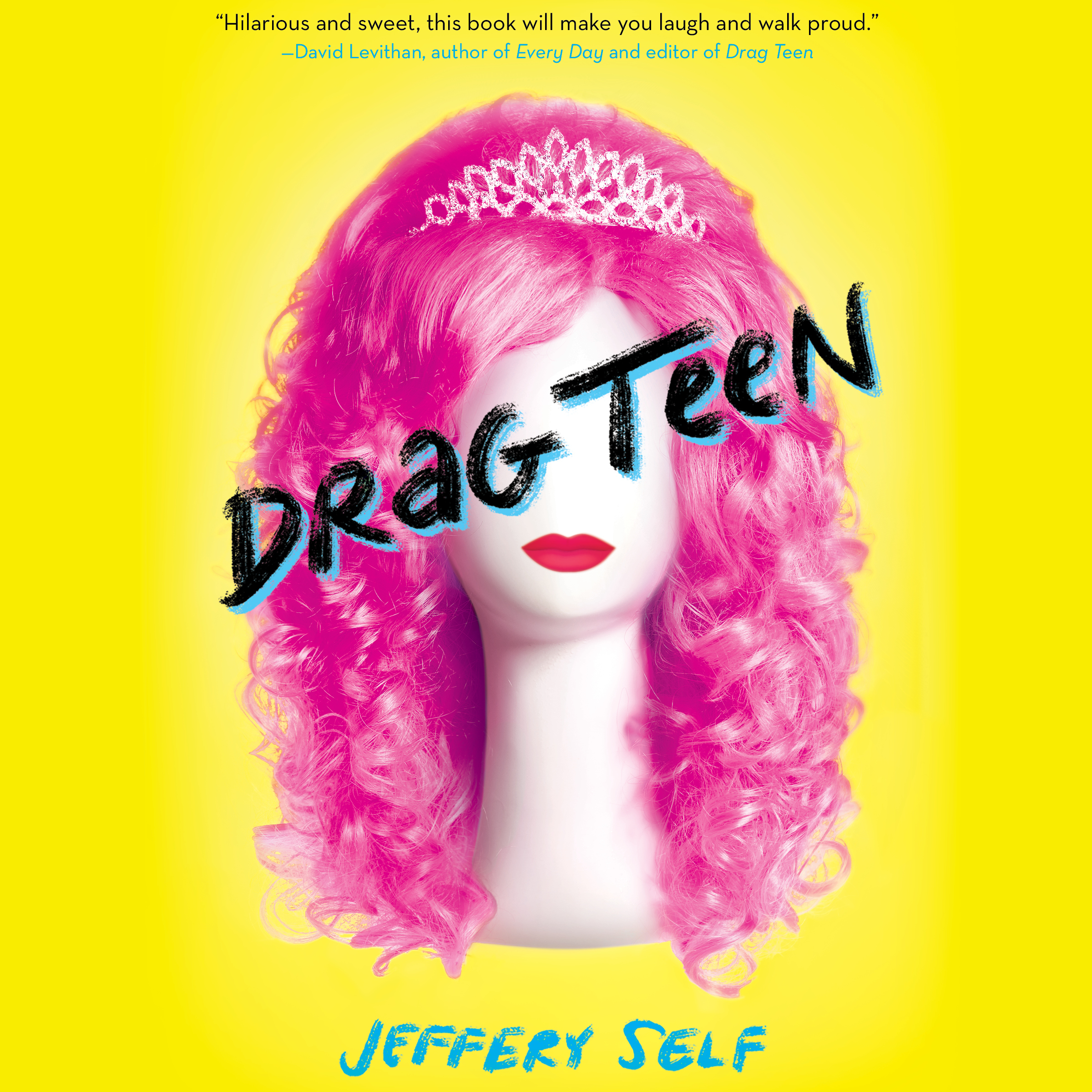 Printable Drag Teen Audiobook Cover Art